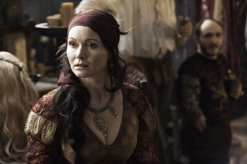Essie Davis in Game of Thrones, season 6, episode 6.