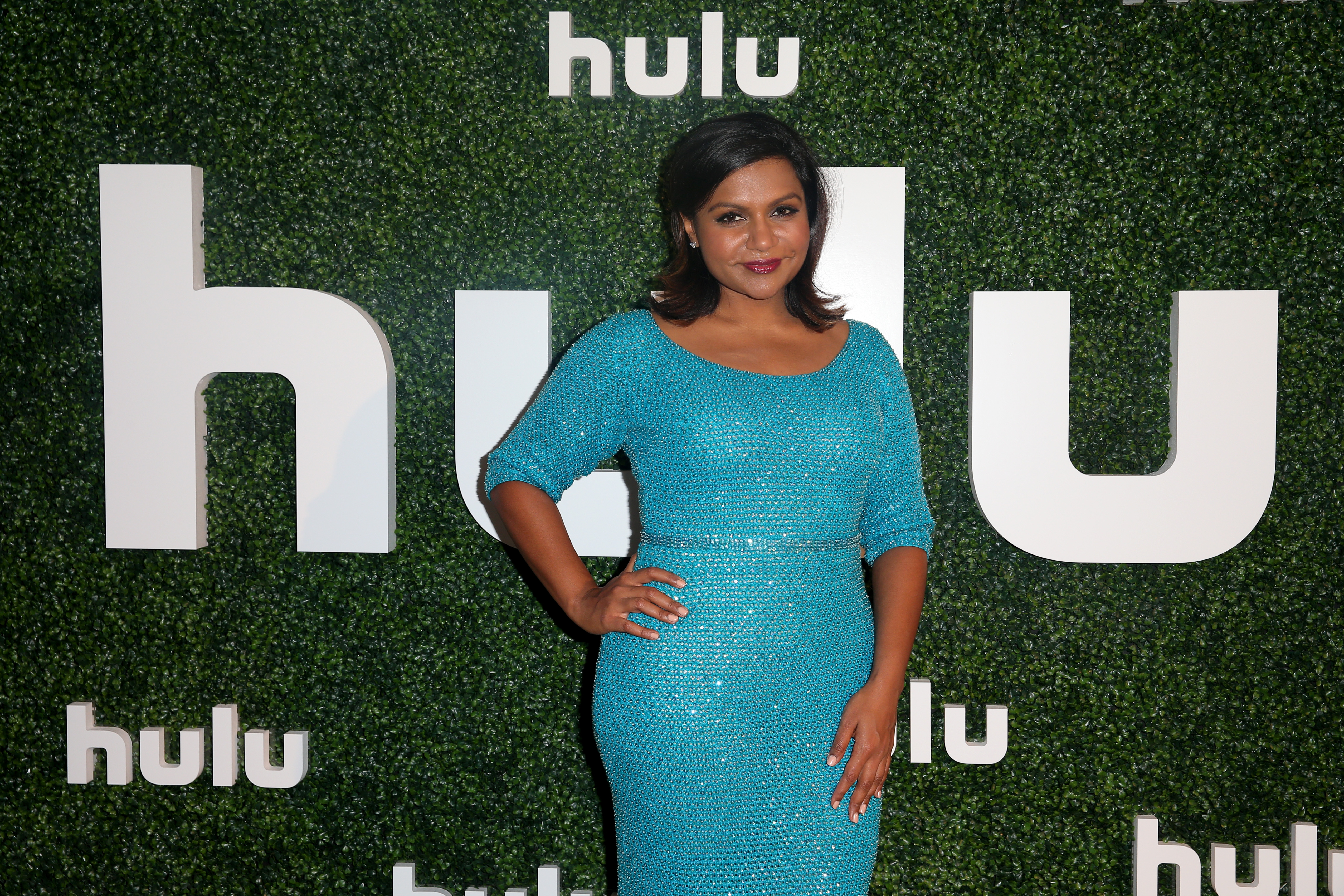 Actress and Executive Producer Mindy Kaling attends the Hulu 2015 Summer TCA Presentation at The Beverly Hilton Hotel on August 9, 2015 in Beverly Hills, California.