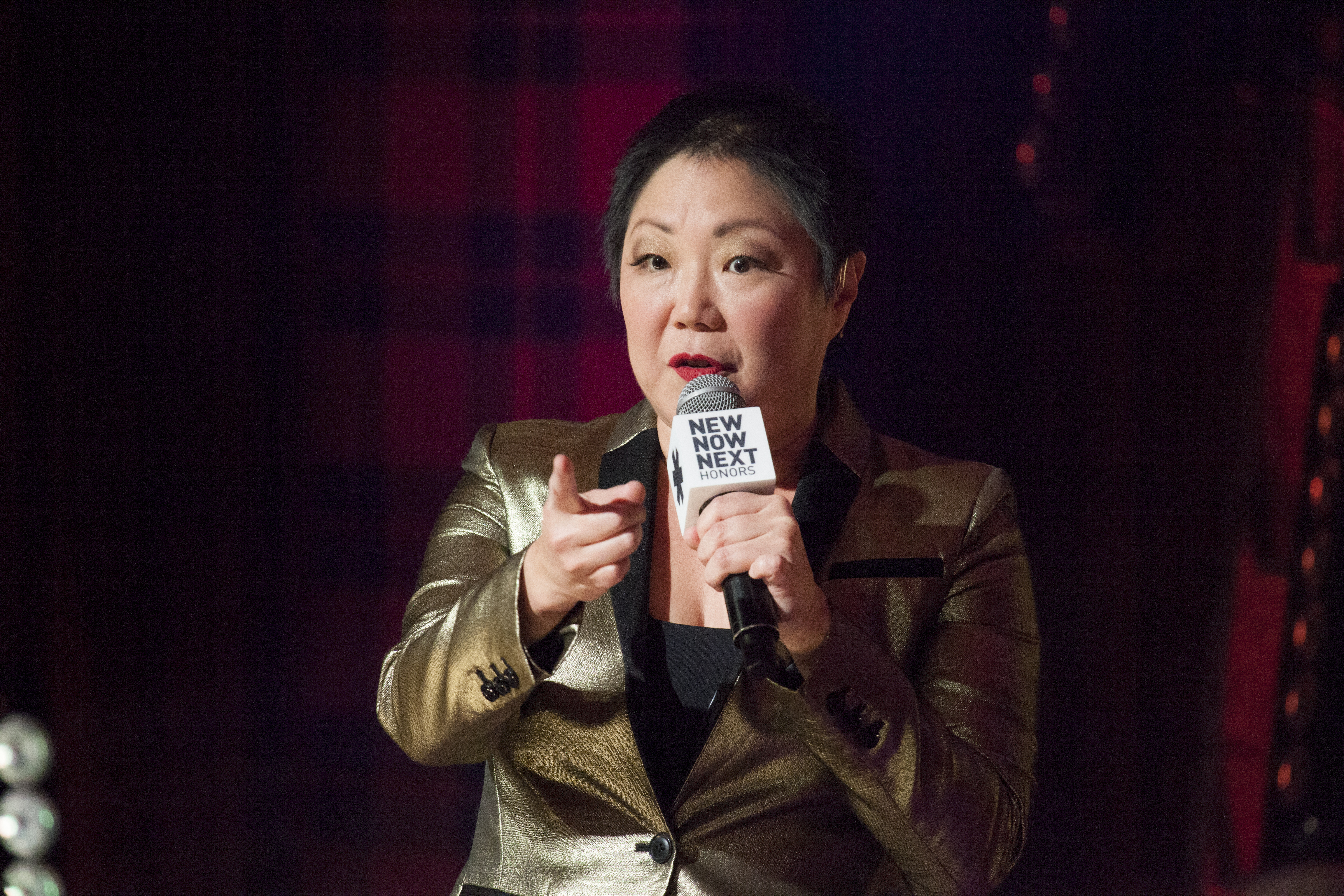 Margaret Cho hosts the Logo New Now Next Honors From Aspen Gay Ski Week on January 23, 2016 in Aspen, Colorado.