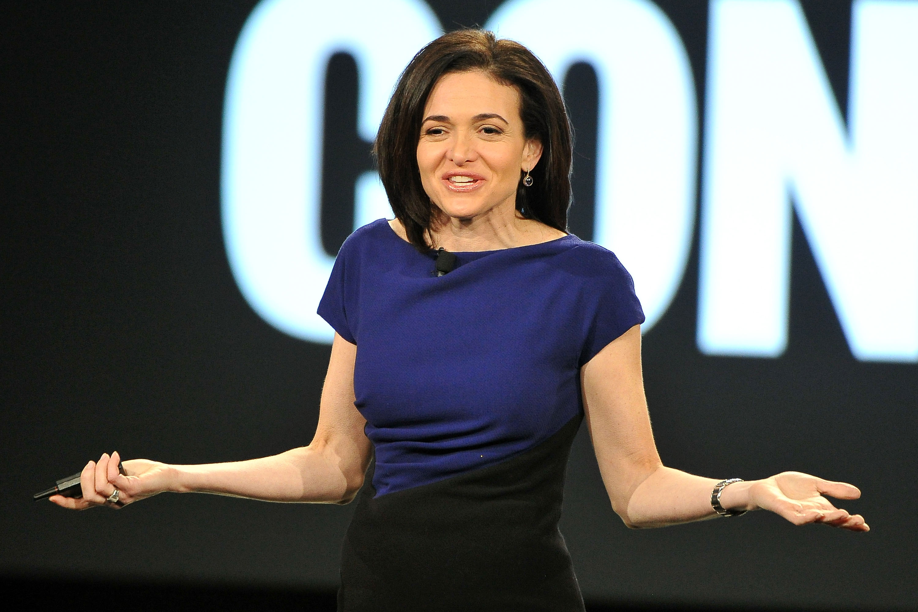 Sheryl Sandberg attends AOL MAKERS Conference at Terranea Resort on February 2, 2016 in Rancho Palos Verdes, California.  (Jerod Harris--WireImage)