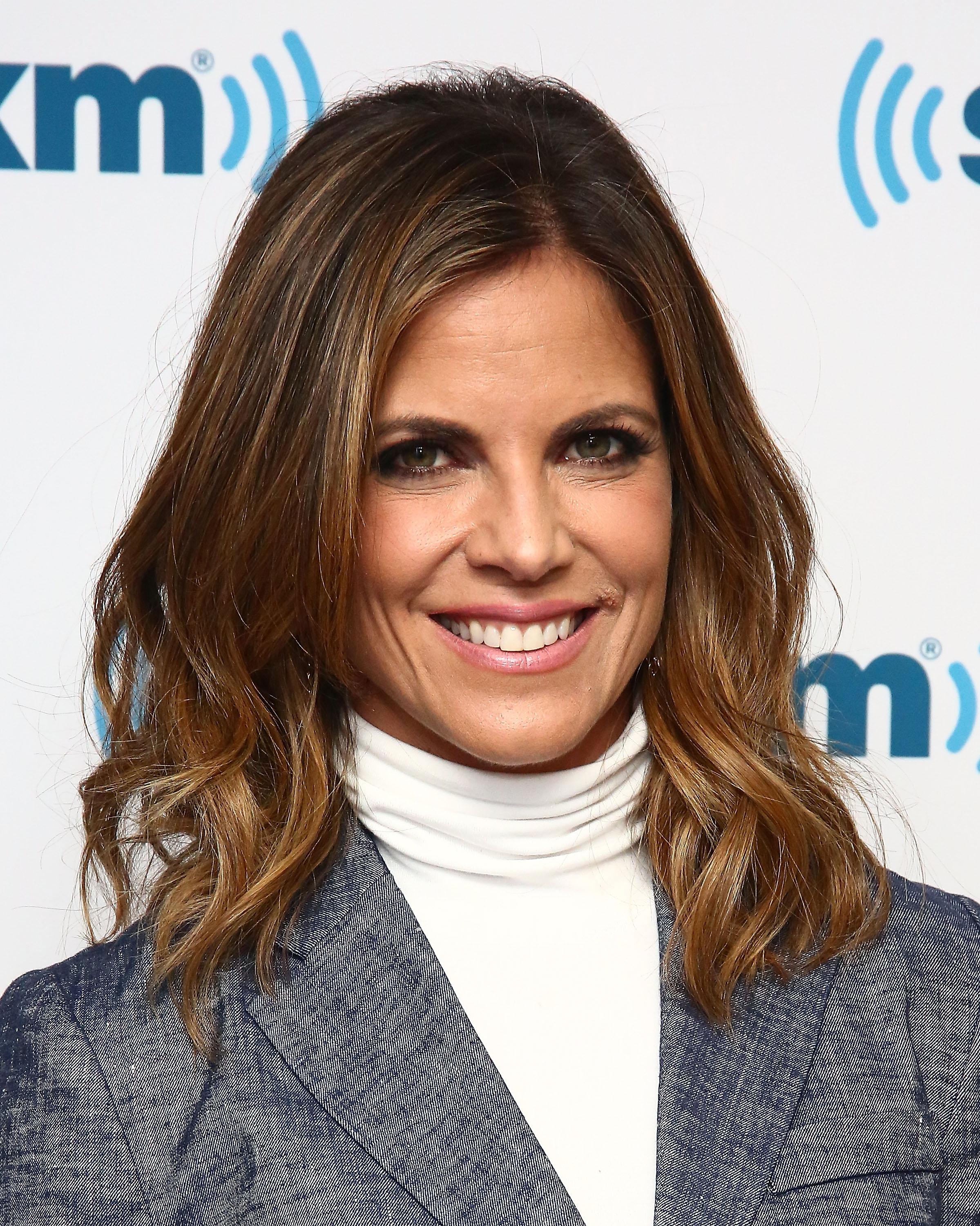TODAY show news anchor Natalie Morales visits SiriusXM Studios on April 21, 2016 in New York City.