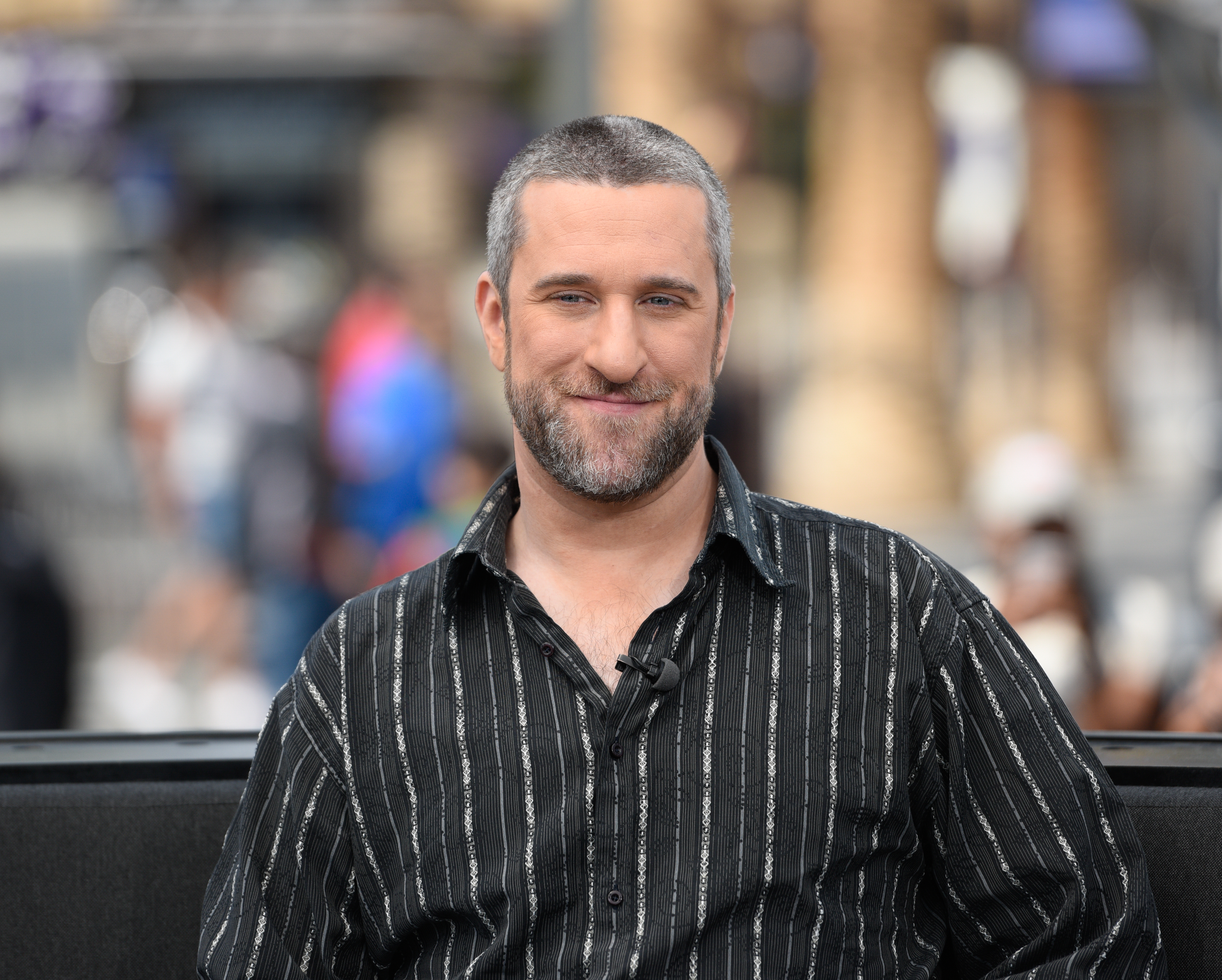Dustin Diamond visits Extra at Universal Studios Hollywood on May 16, 2016, in Universal City, Calif.