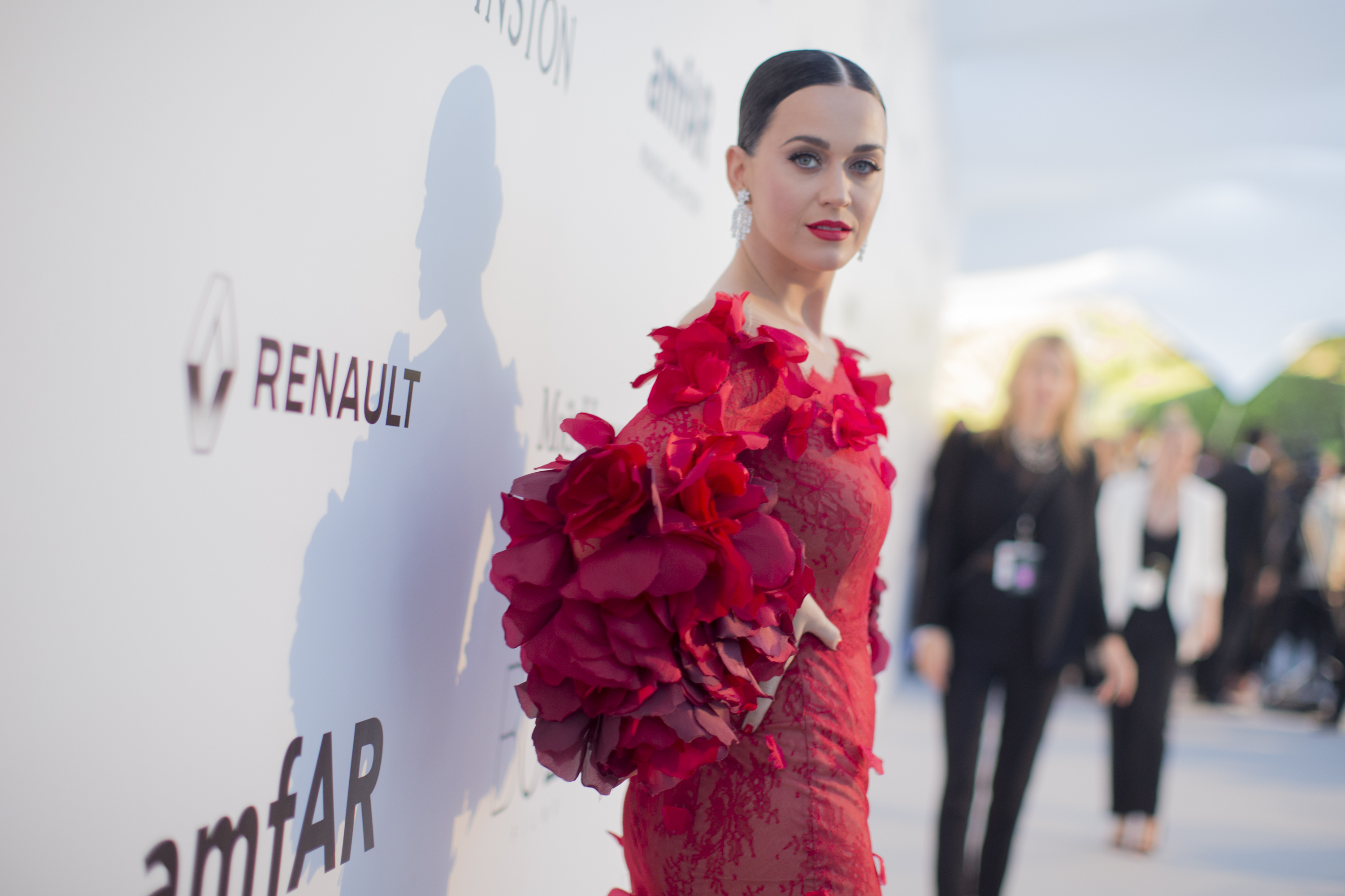Katy Perry attends the amfAR's 23rd Cinema Against AIDS Gala at Hotel du Cap-Eden-Roc on May 19, 2016 in Cap d'Antibes, France.