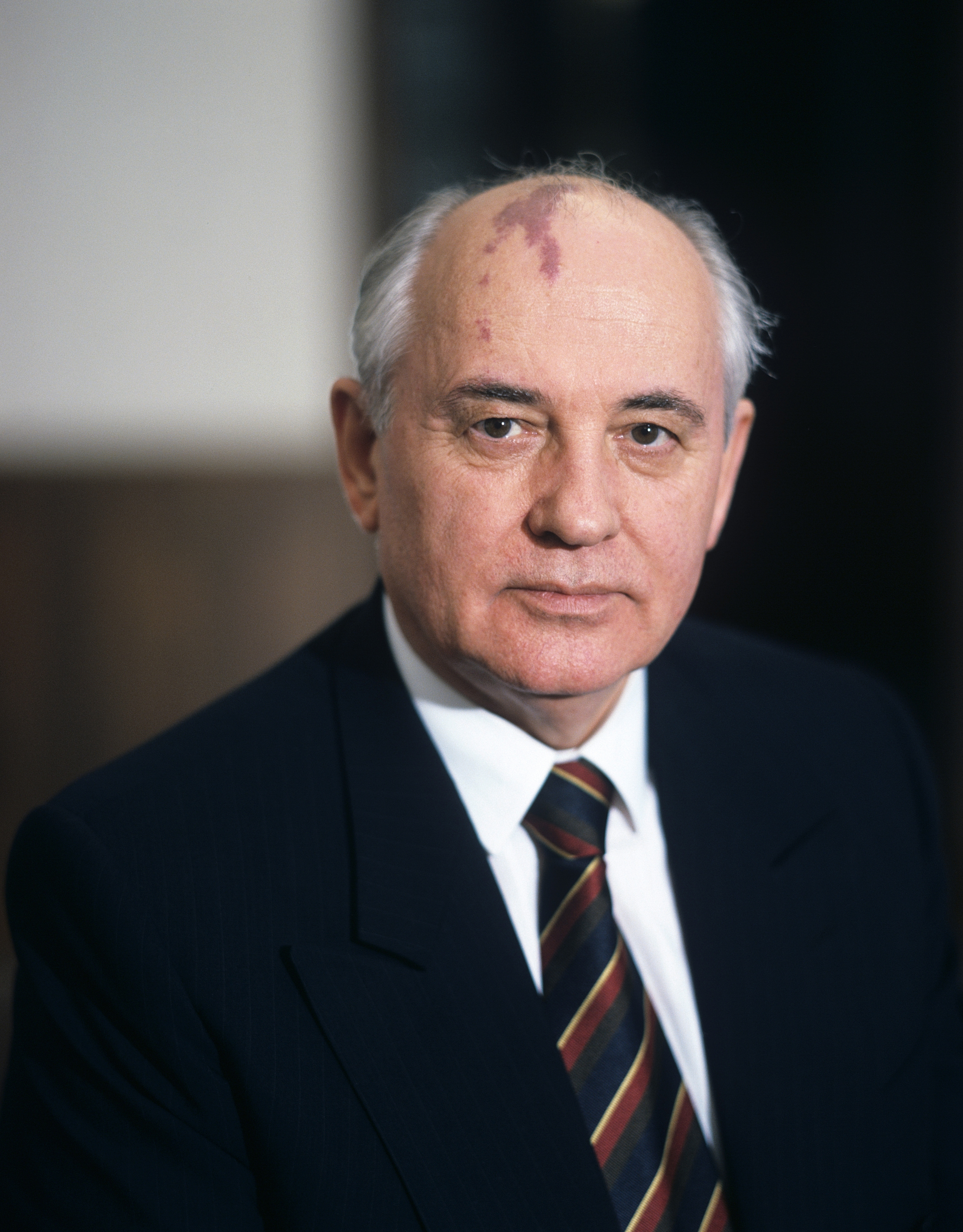General Secretary of the Central Committee of the Communist Party of the Soviet Union Mikhail Gorbachev in the mid 80's in Moscow, Russia.