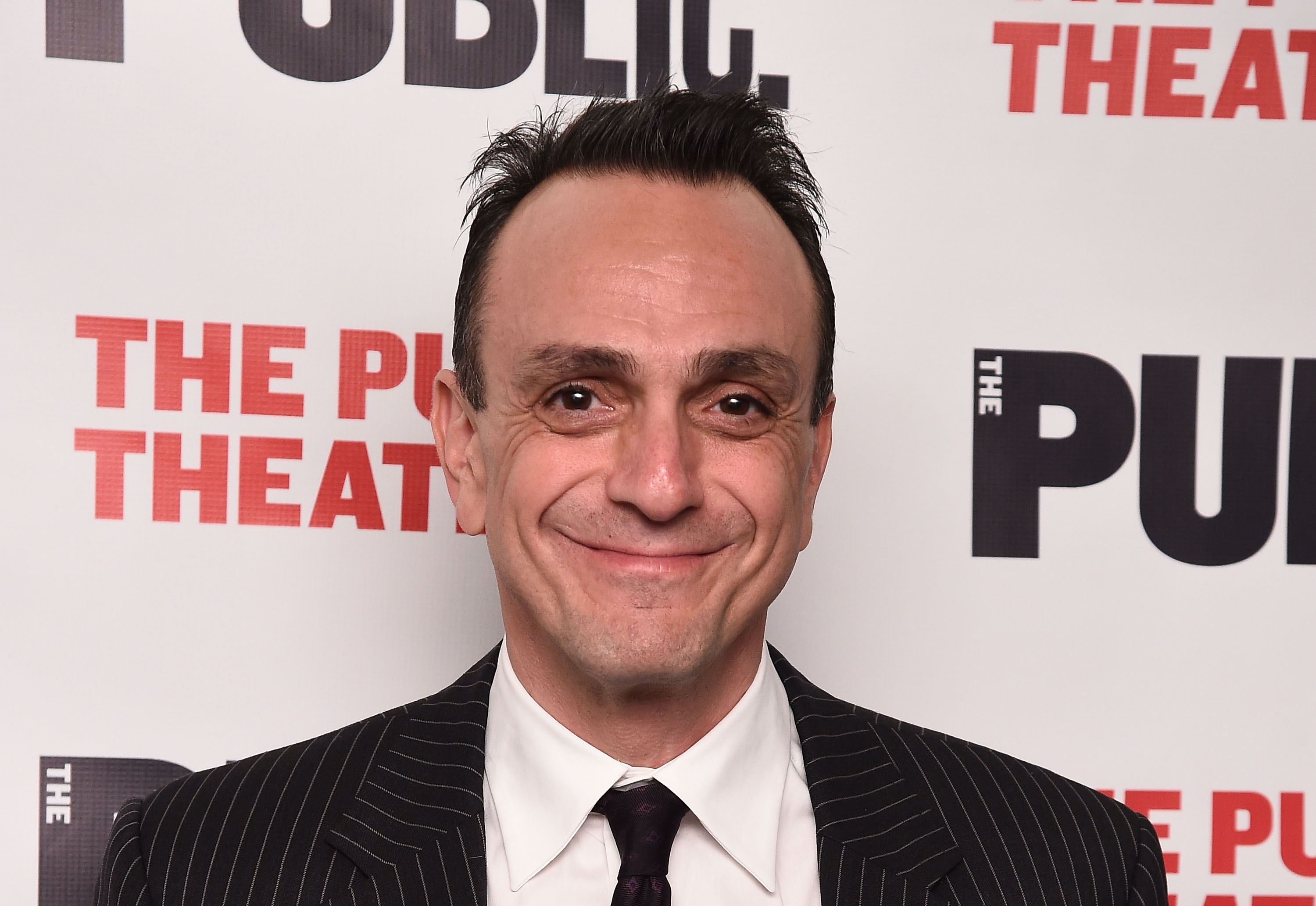 Actor Hank Azaria  attends  Dry Powder  Opening Night at The Public Theater on March 22, 2016 in New York City.