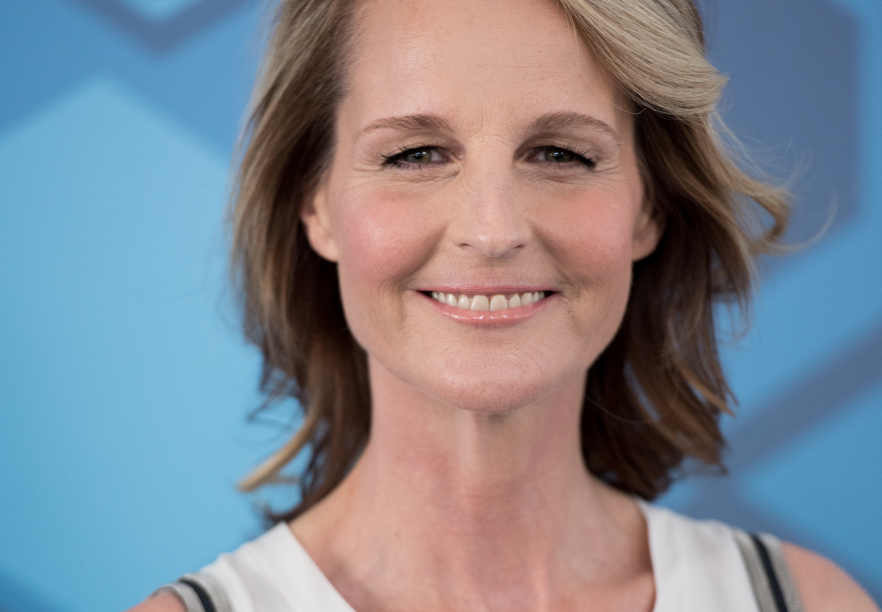 Actress Helen Hunt attends the 2016 Fox Upfront at Wollman Rink, Central Park on May 16, 2016 in New York City.