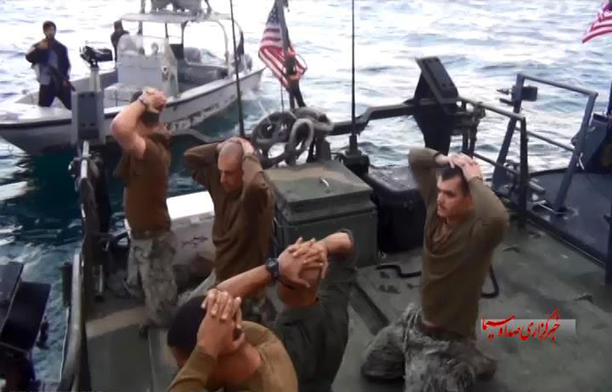 Navy Punishes Nine for Stumbling into Iranian Hands | Time