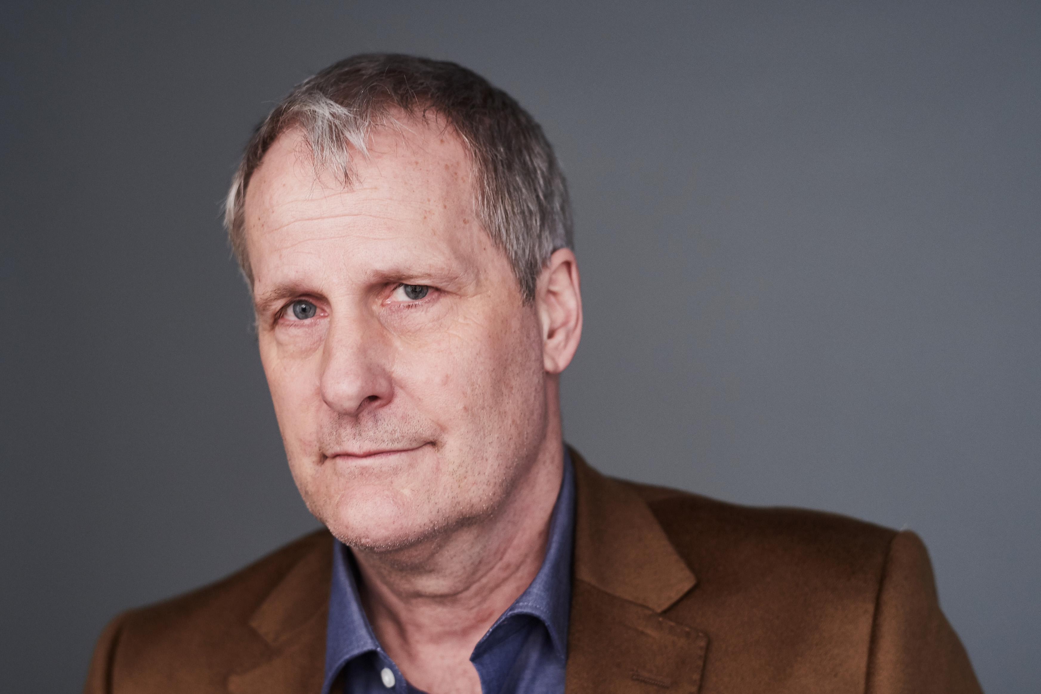 Actor Jeff Daniels poses for a portrait at the 2016 Tony Awards Meet The Nominees Press Reception on May 4, 2016 in New York City.