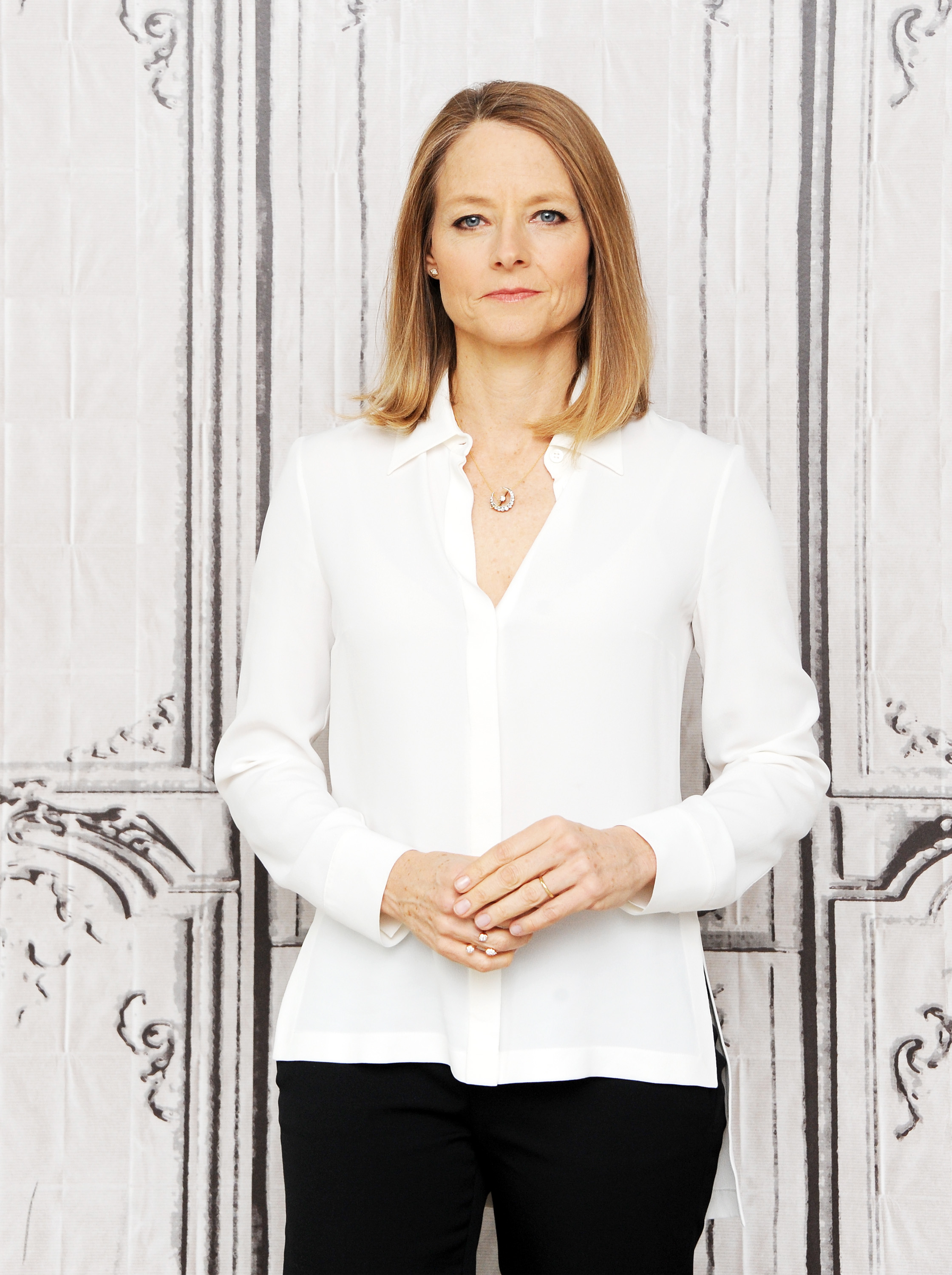 Jodie Foster attends the AOL Build Speaker Series on May 9, 2016 in New York, New York.