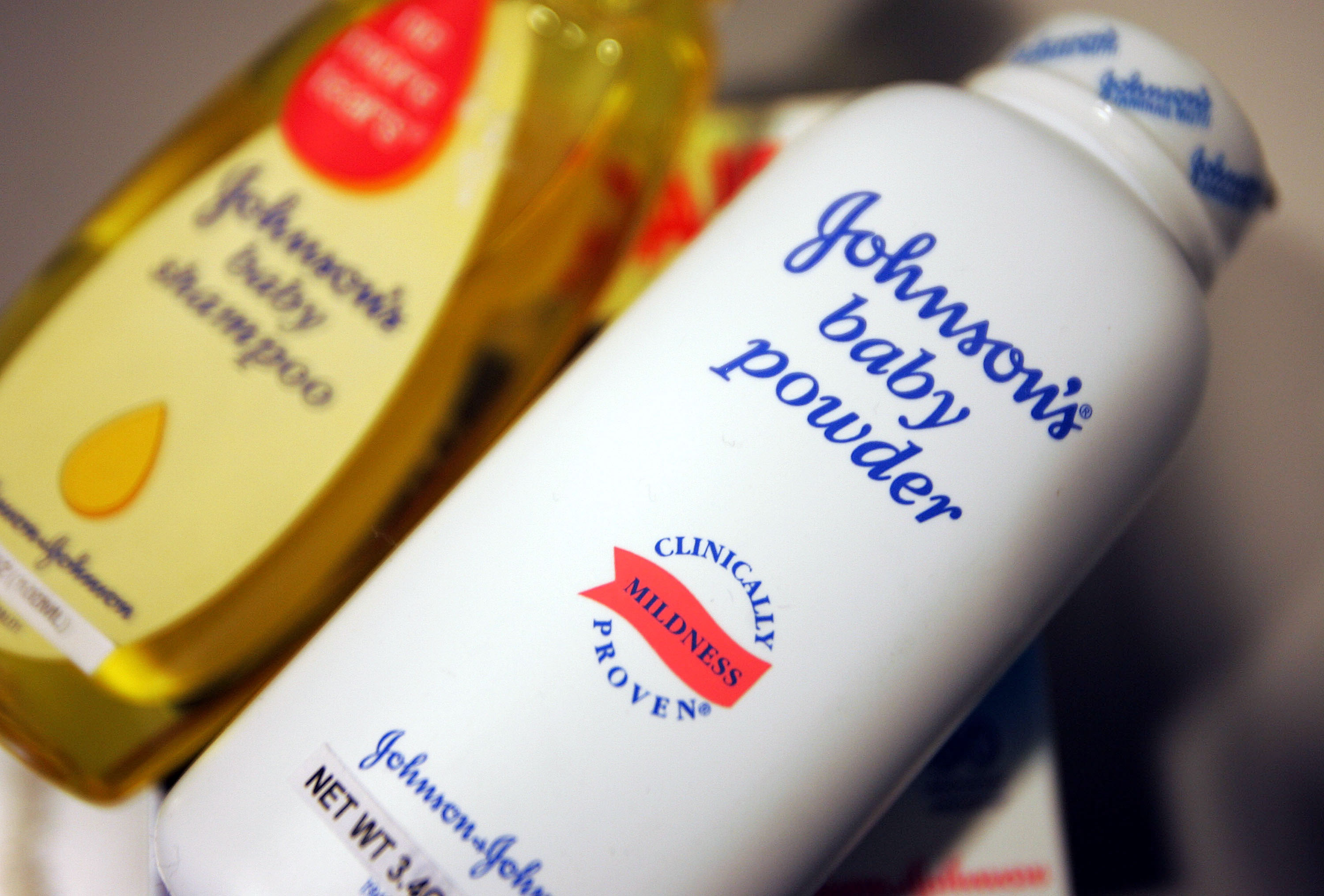 Johnson & Johnson's products are seen December 16, 2004 in New York.
