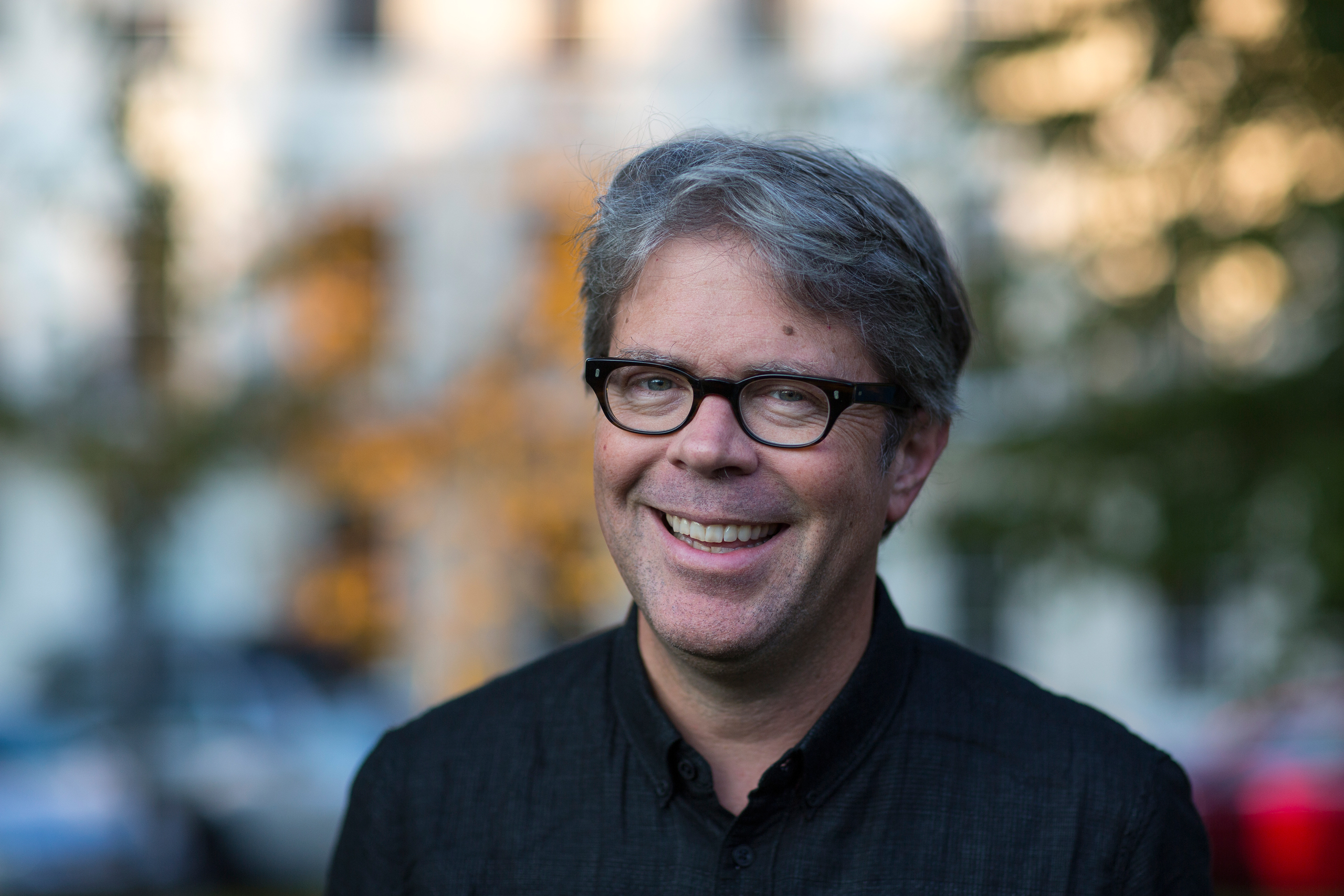 CHELTENHAM, ENGLAND - OCTOBER 02: Jonathan Franzen, bestselling American author of Freedom and The Corrections, at the Cheltenham Literature Festival on October 2, 2015 in Cheltenham, England. (Photo by David Levenson/Getty Images)