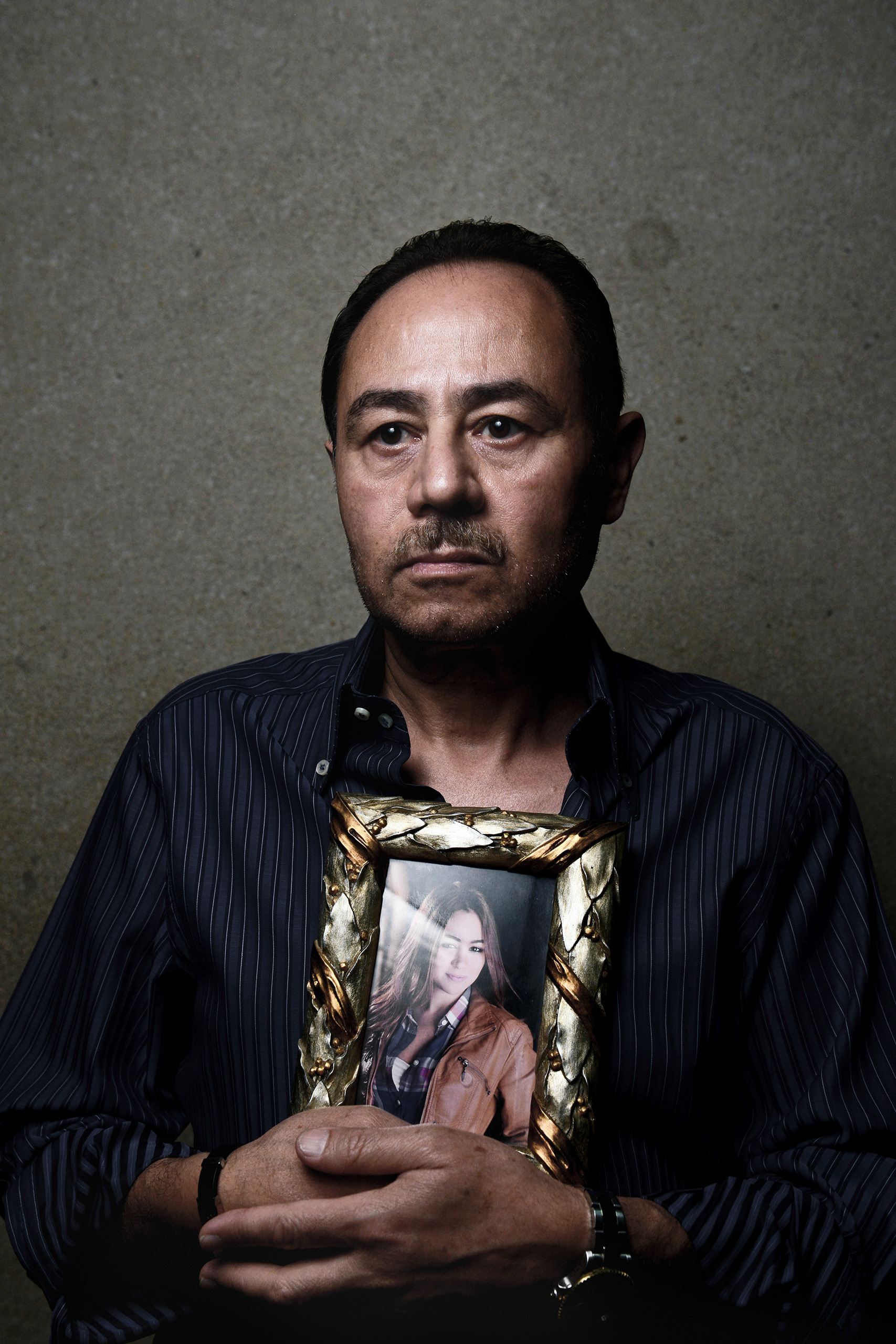 Hany Farag, father of flight attendant Yara Hany who was onboard EgyptAir Flight 804, which crashed on its way from Paris to Cairo on May 19.From  The Losses of EgyptAir Flight 804.