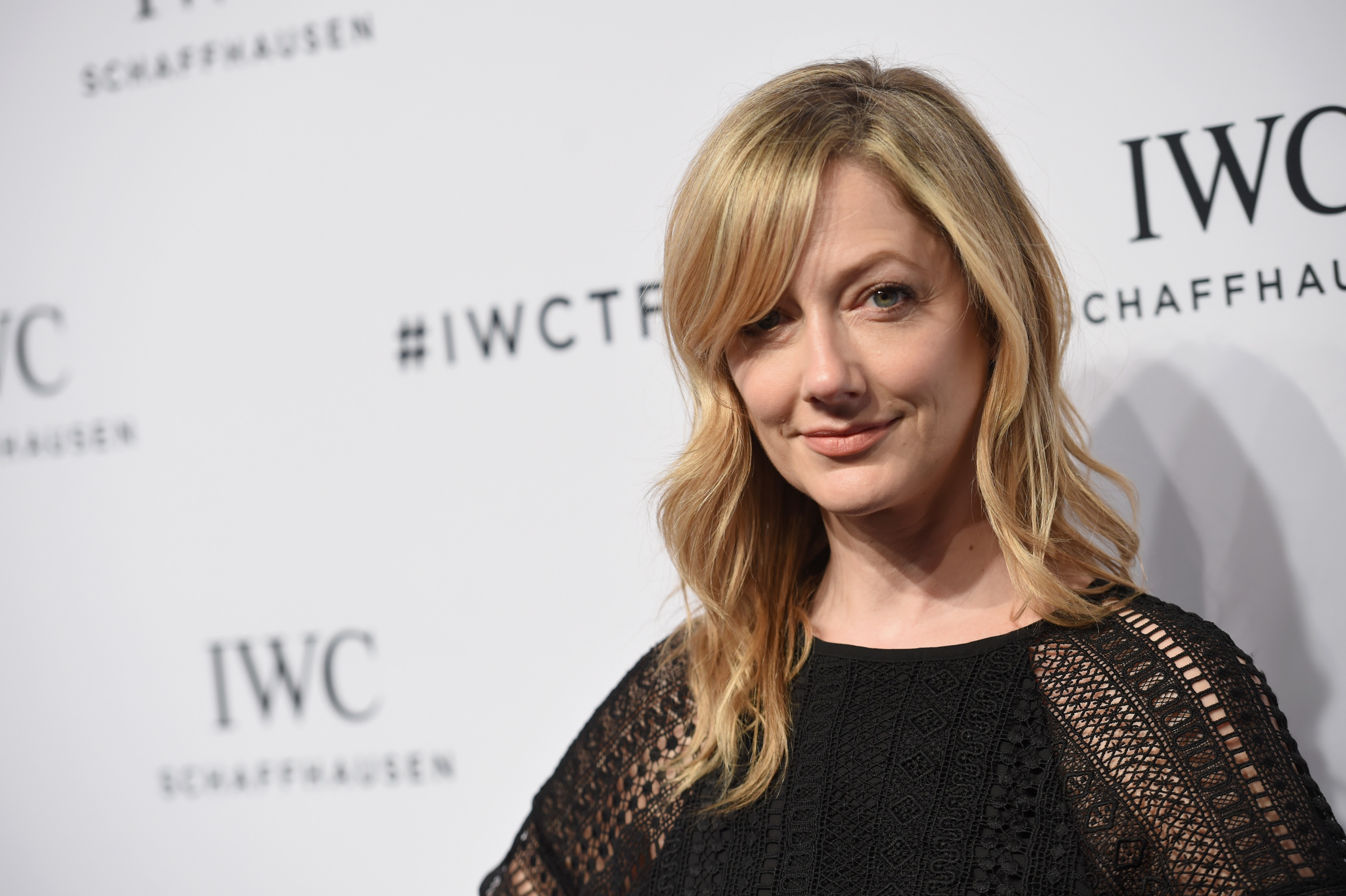 """Actress Judy Greer attends the exclusive gala event """"For the Love of Cinema"""" during the Tribeca Film Festival hosted by luxury watch manufacturer IWC Schaffhausen on April 14, 2016 in New York City."""