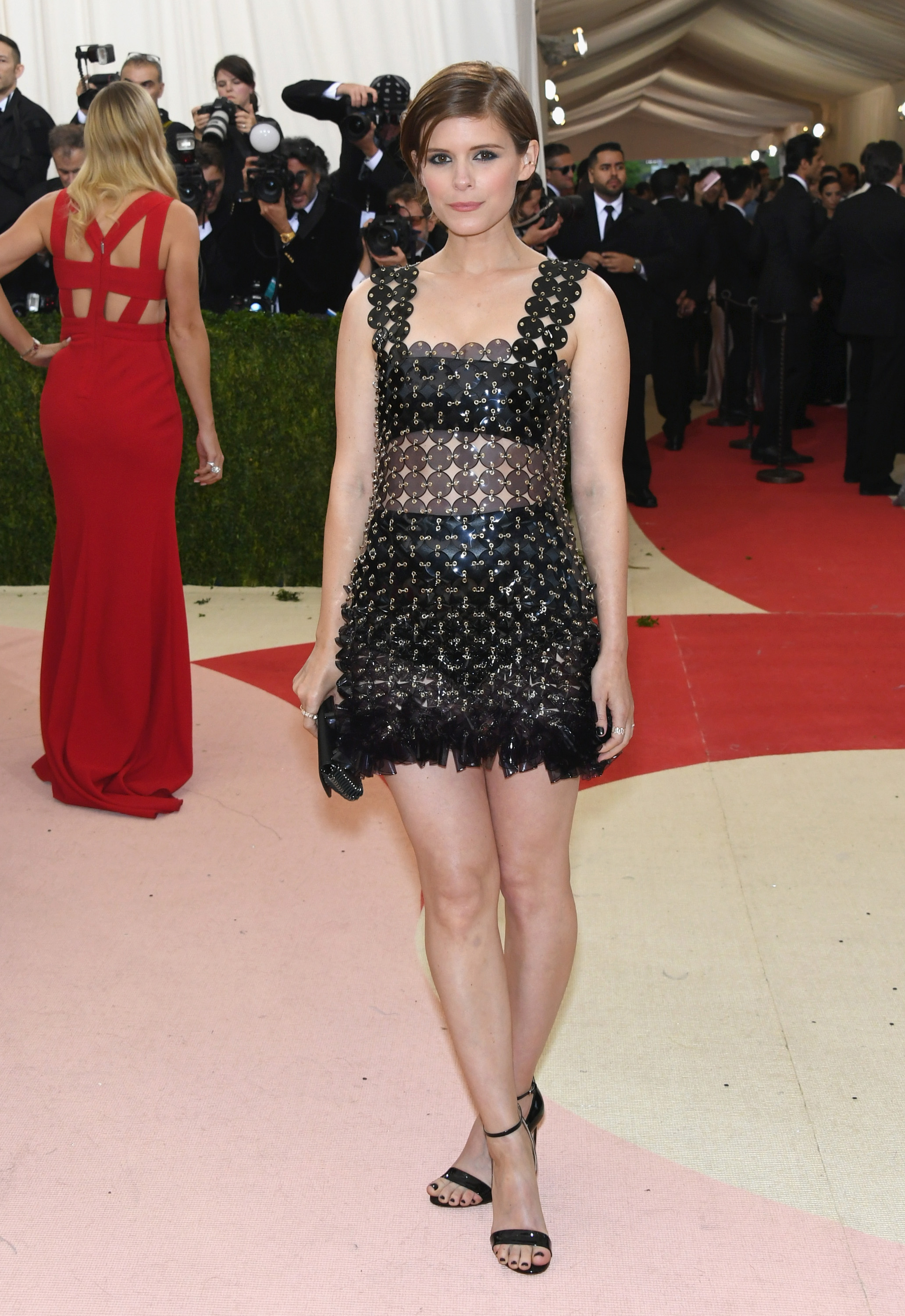 Kate Mara attends  Manus x Machina: Fashion In An Age Of Technology  Costume Institute Gala at Metropolitan Museum of Art on May 2, 2016 in New York City.