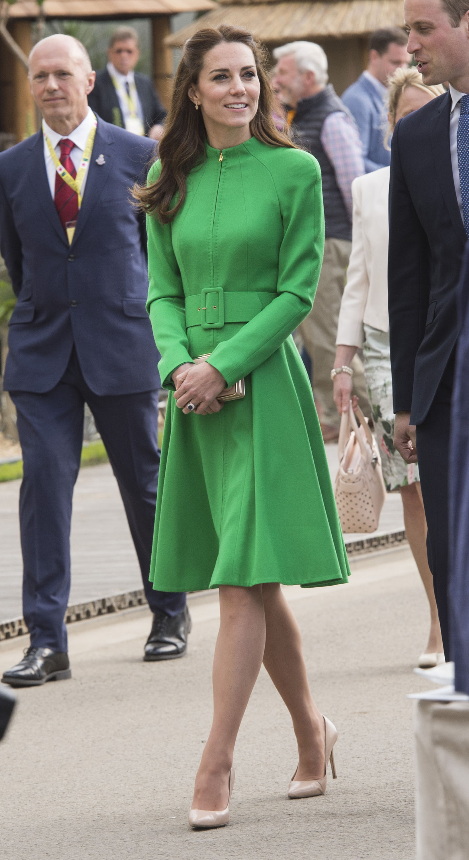 Catherine, Duchess of Cambridge, attends Chelsea Flower Show press day at Royal Hospital Chelsea in London on May 23, 2016.
