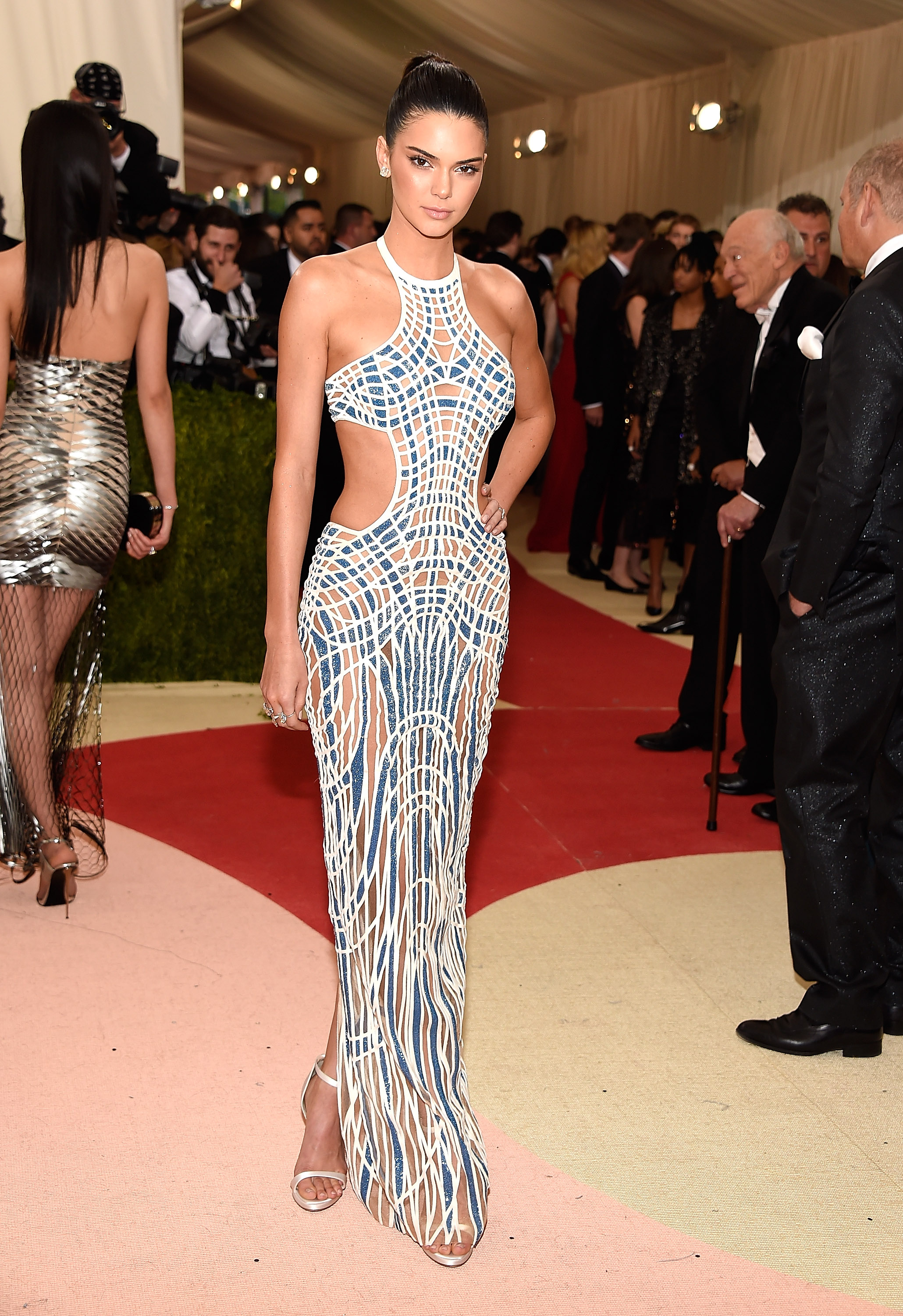 Kendall Jenner attends  Manus x Machina: Fashion In An Age Of Technology  Costume Institute Gala at Metropolitan Museum of Art on May 2, 2016 in New York City.