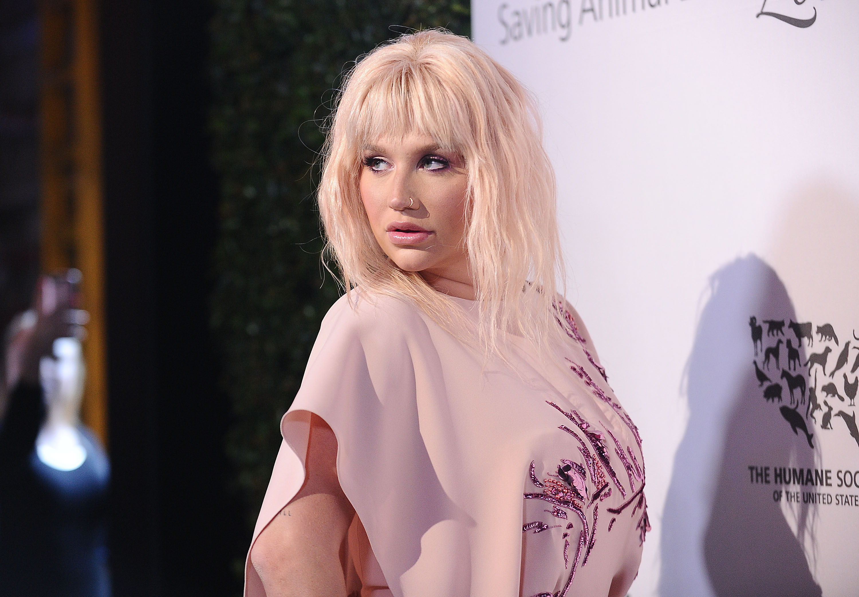 Kesha attends The Humane Society of The United States' To The Rescue gala at Paramount Studios on May 07, 2016 in Hollywood, California.