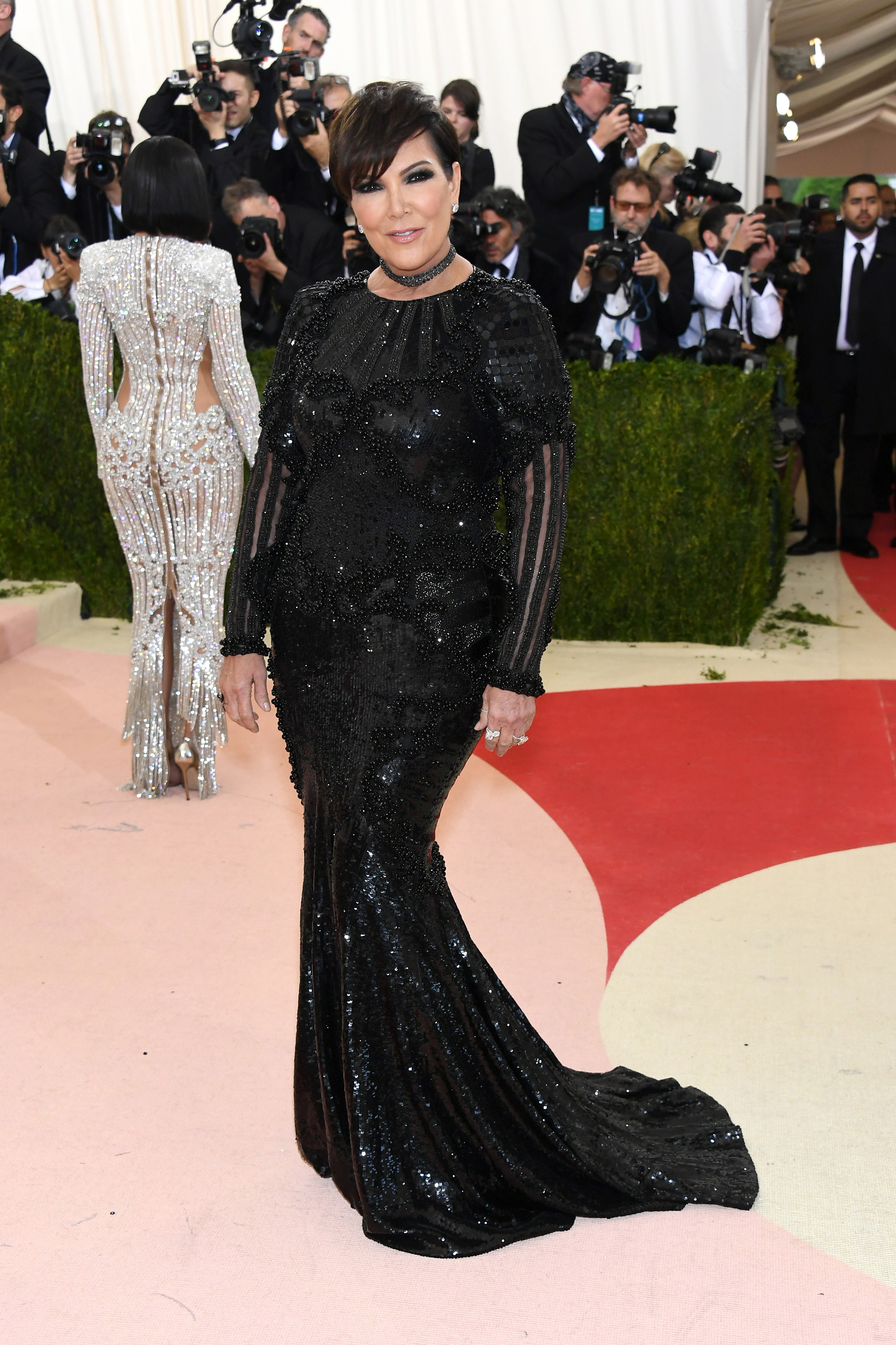 Kris Jenner attends  Manus x Machina: Fashion In An Age Of Technology  Costume Institute Gala at Metropolitan Museum of Art on May 2, 2016 in New York City.