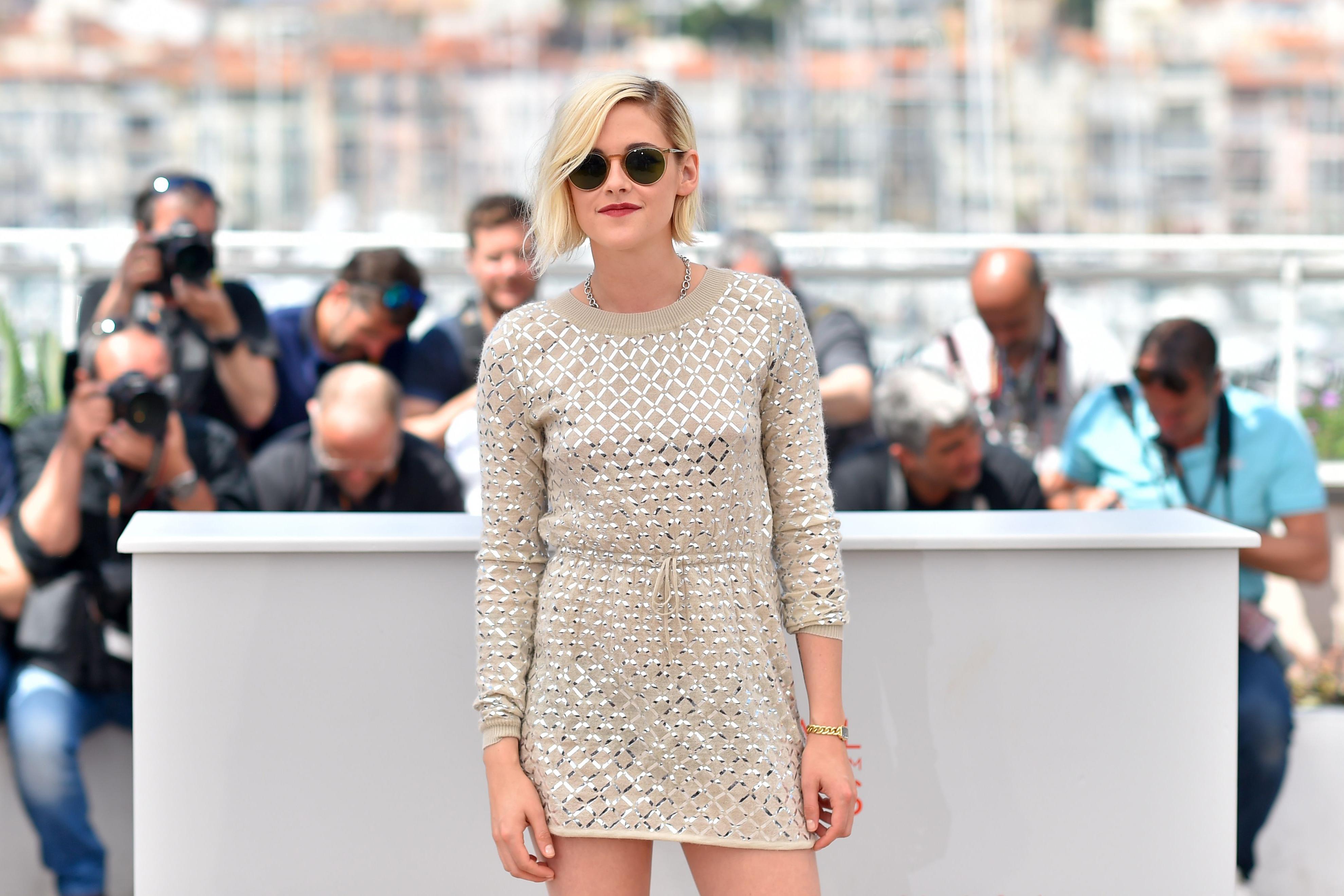 Kristen Stewart on May 17, 2016 in Cannes, France.