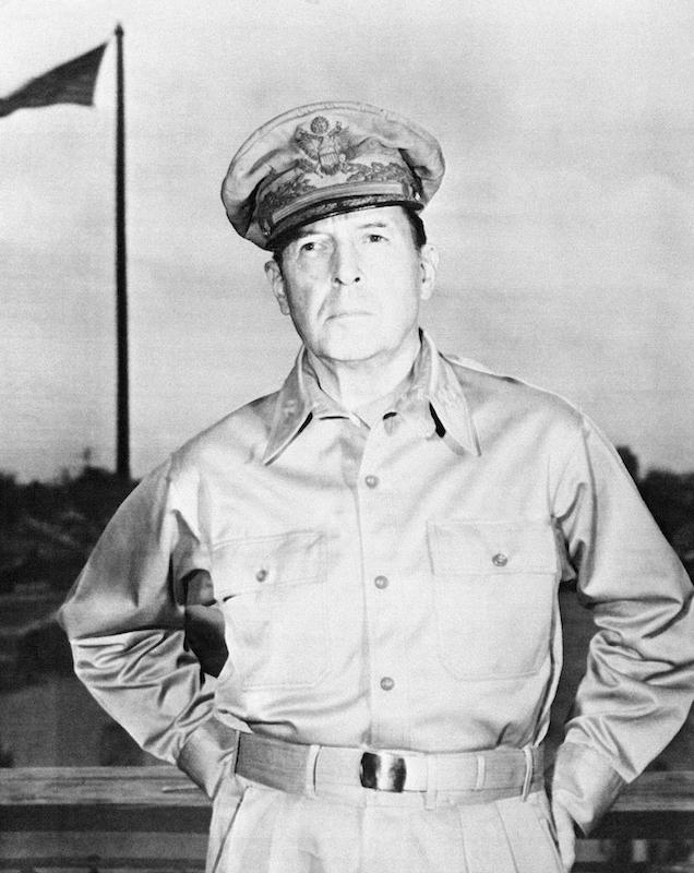 Portrait of Gen. Douglas MacArthur