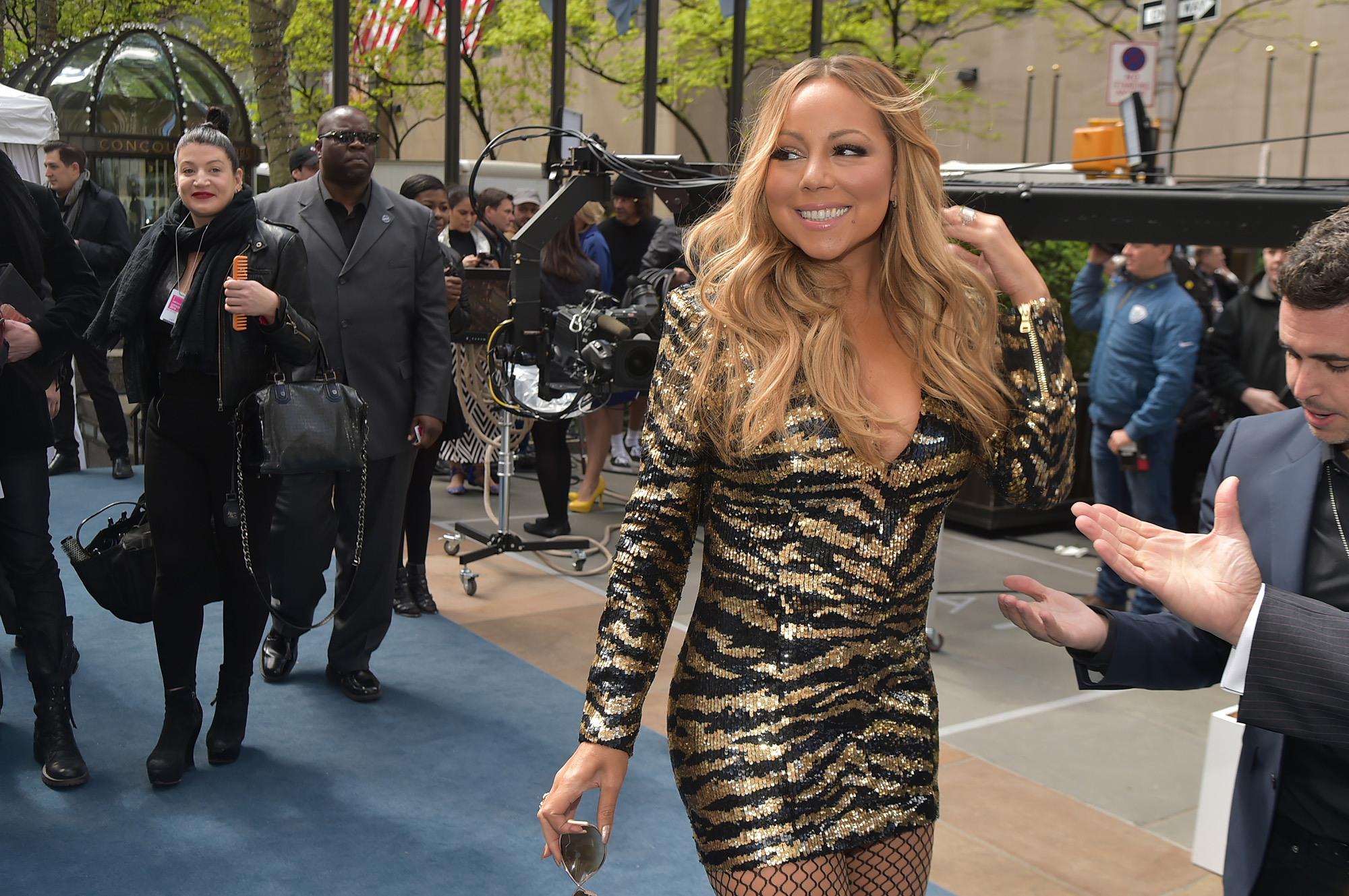NBCUniversal Upfront in New York City on Monday, May 16, 2016 -- Pictured: Mariah Carey,  Mariah's World  on E! Entertainment -- (Photo by: Theo Wargo/NBCUniversal/NBCU Photo Bank via Getty Images)