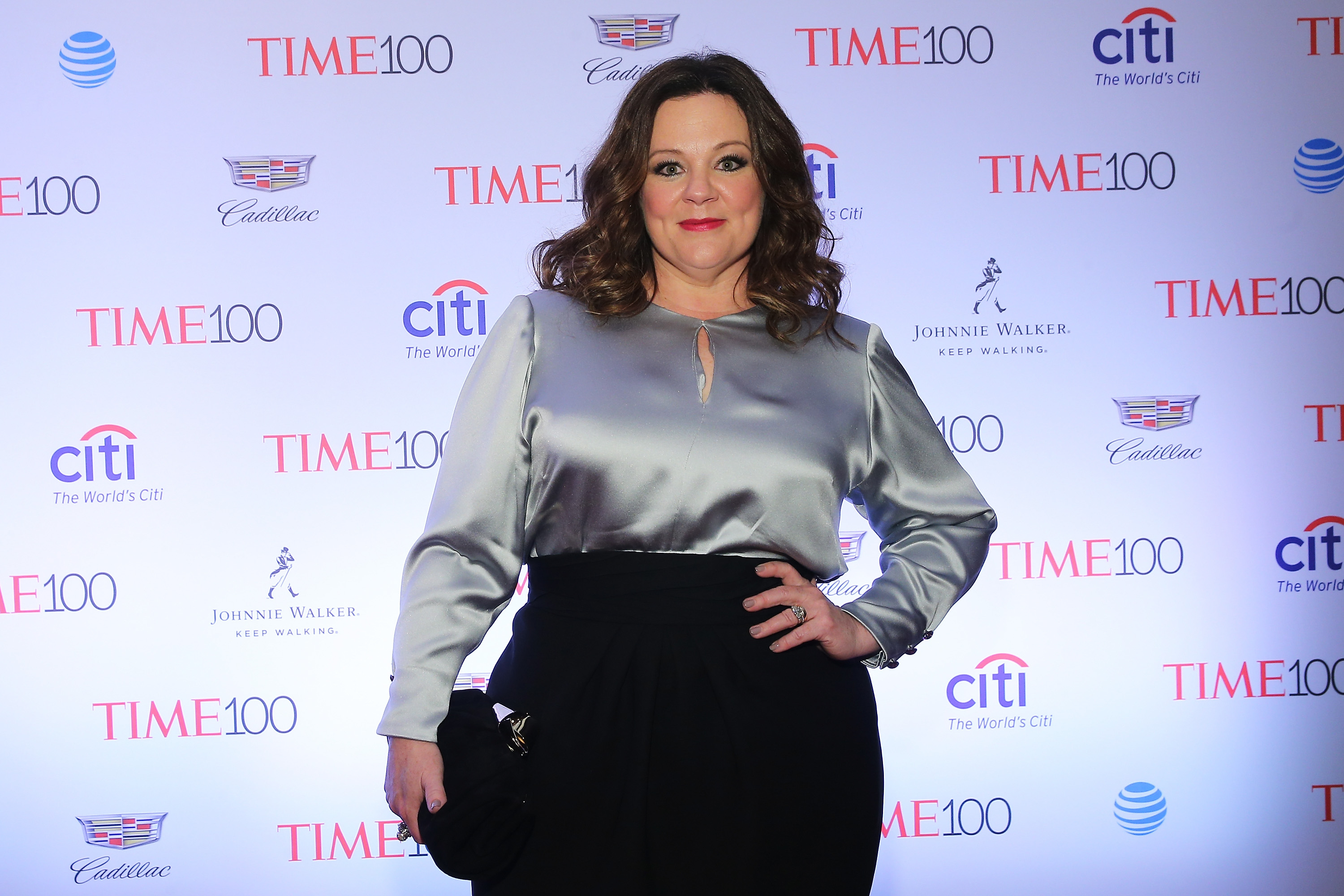 NEW YORK, NY - APRIL 26:  Actress Melissa McCarthy attends 2016 Time 100 Gala, Time's Most Influential People In The World red carpet at Jazz At Lincoln Center at the Times Warner Center on April 26, 2016 in New York City.  (Photo by Jemal Countess/Getty Images for Time)