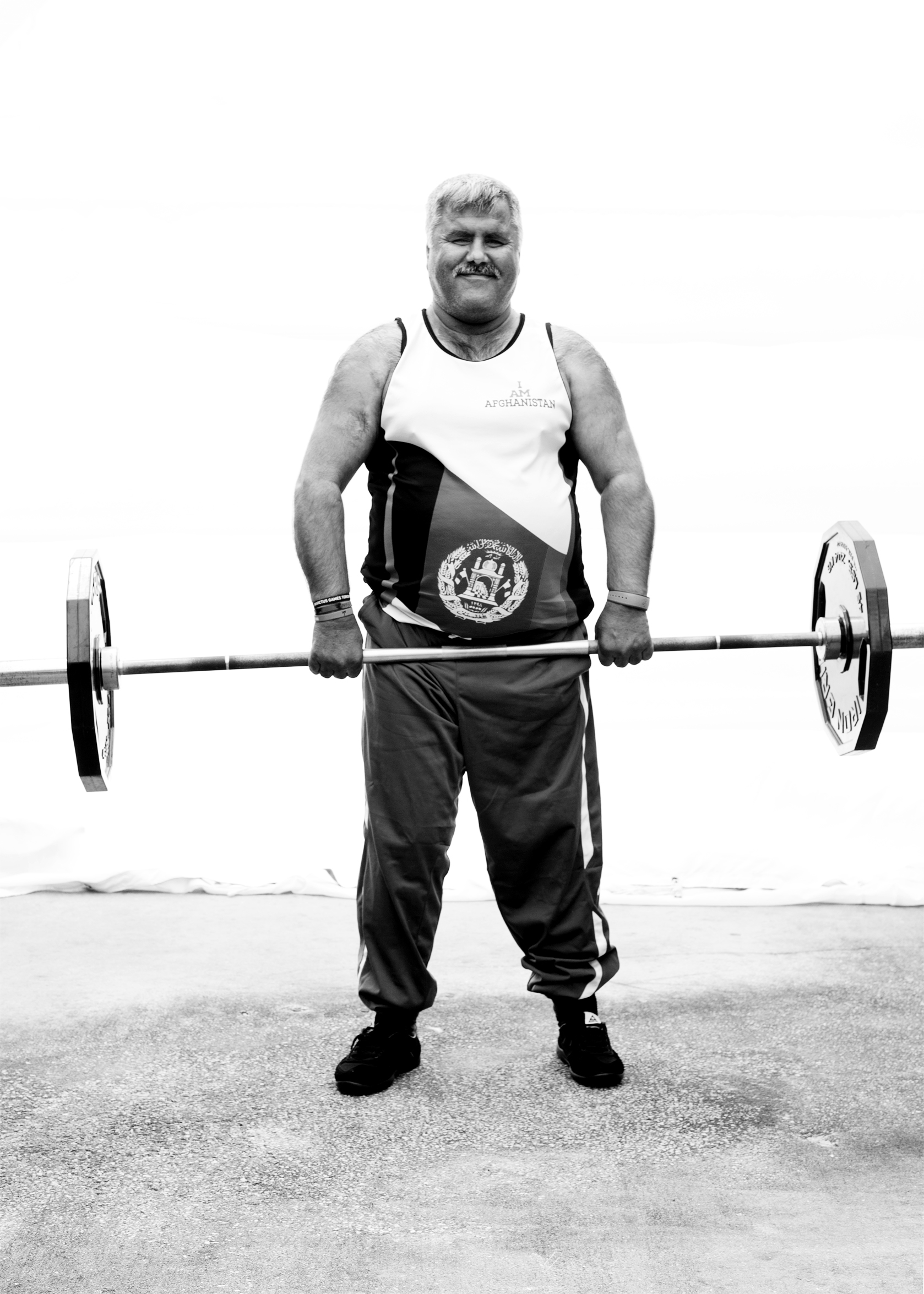 Abdul Ali Khil, Afghanistan, competed in powerlifting and rowing