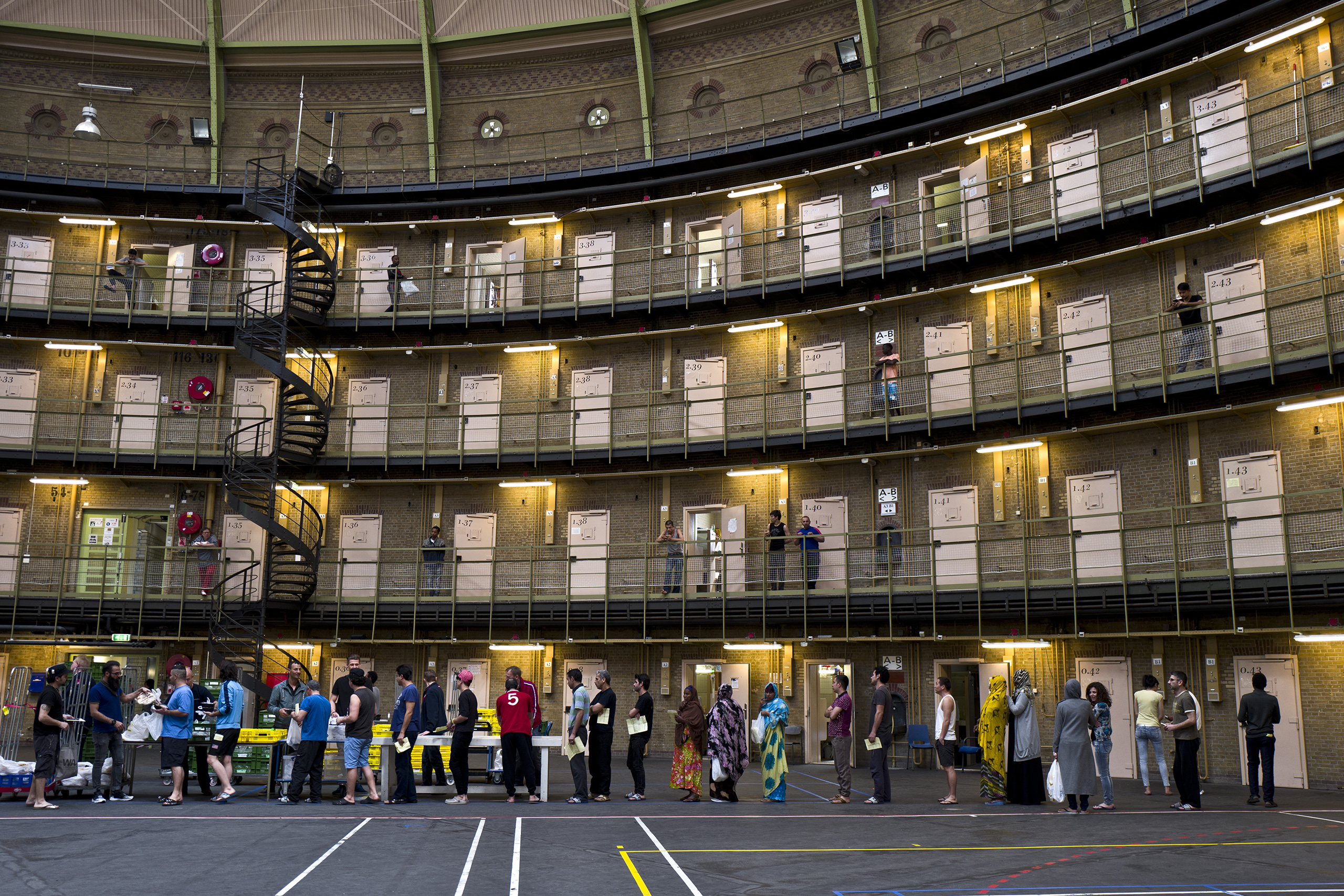 Refugees: Netherlands Puts Asylum-Seekers in Former Prisons | Time
