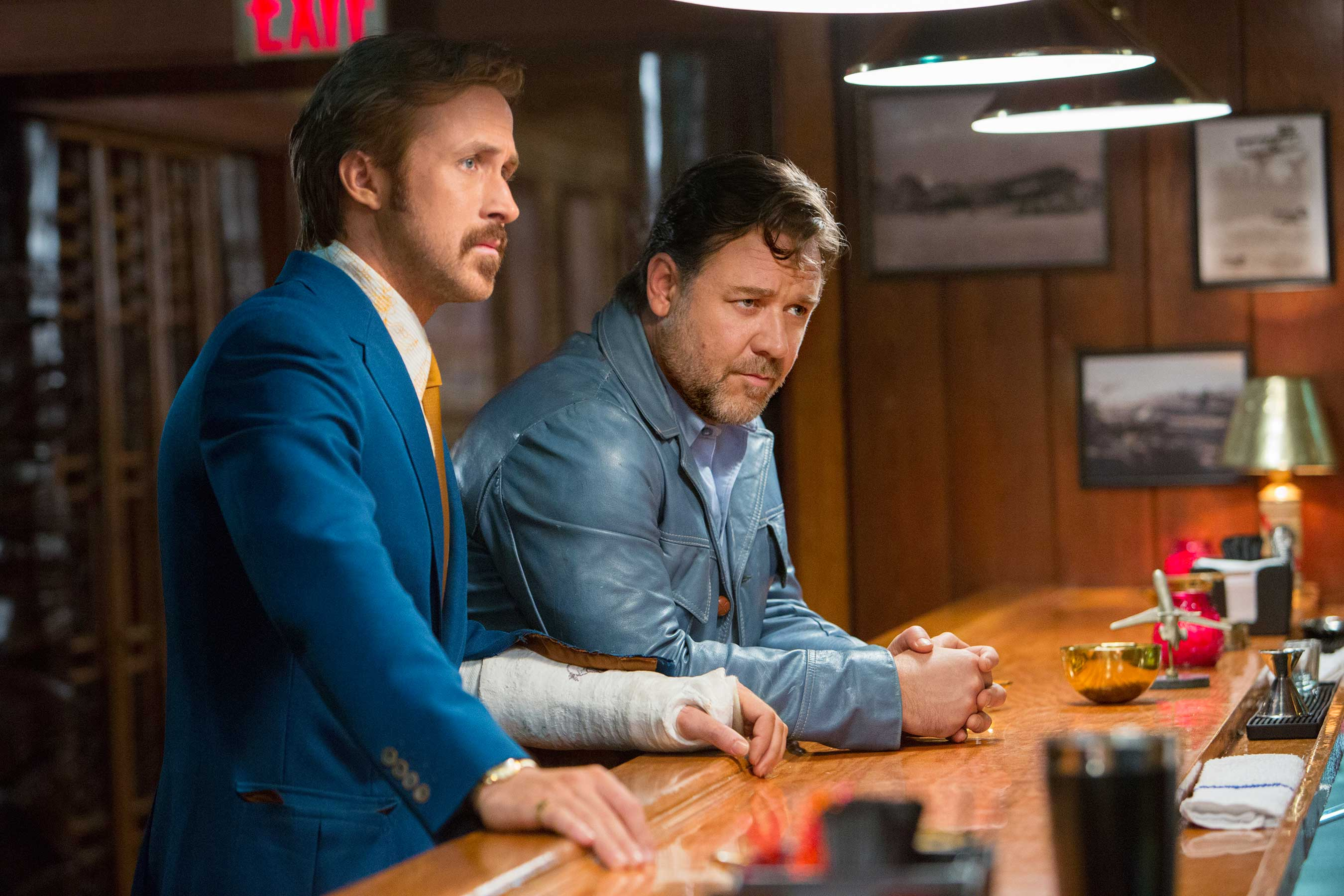 The Nice Guys revives '70s private-eye satire in buddy-movie mode