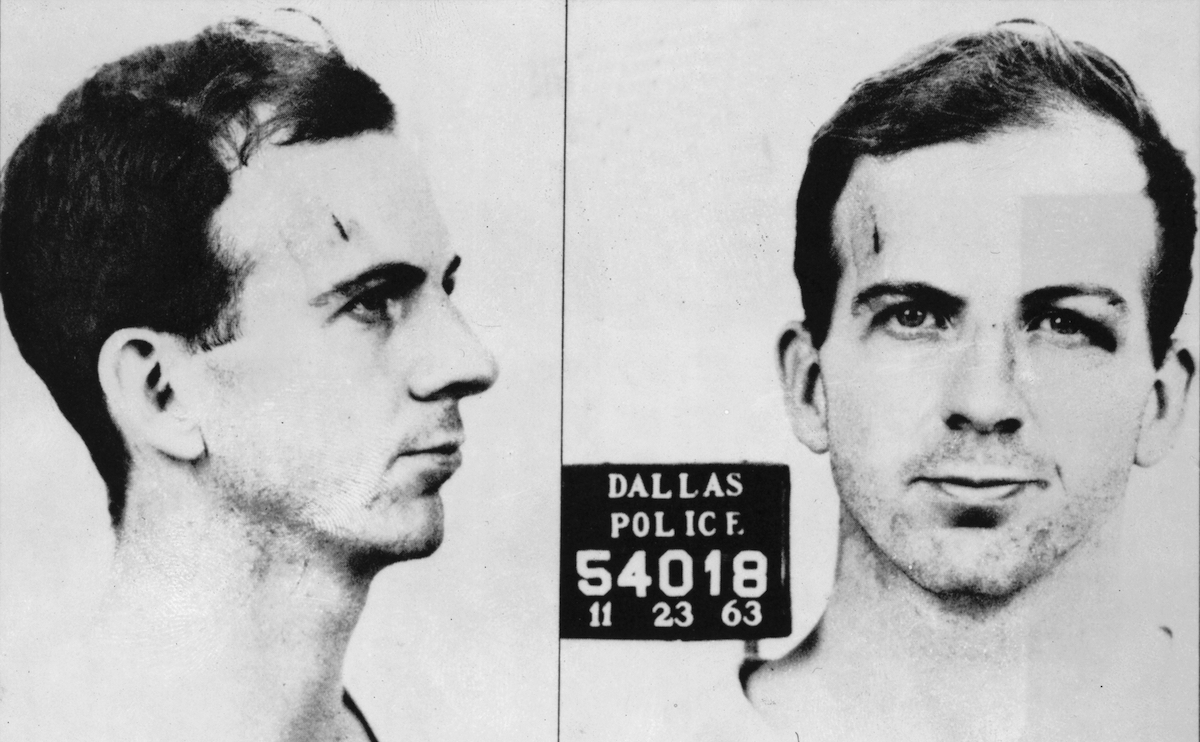 Mugshot of Lee Harvey Oswald, alleged assassin of President John F. Kennedy, taken by the Dallas Police department on Nov. 23, 1963