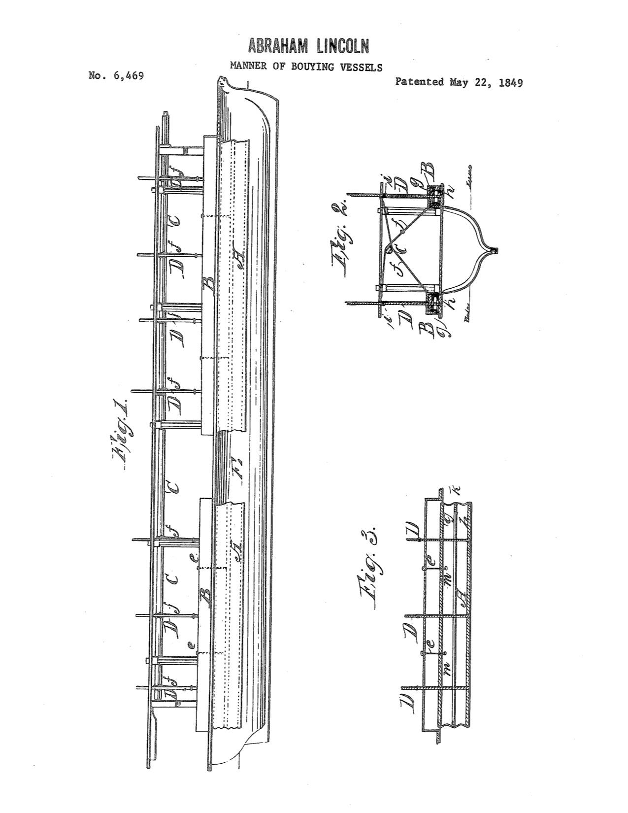 Abraham Lincoln's patent