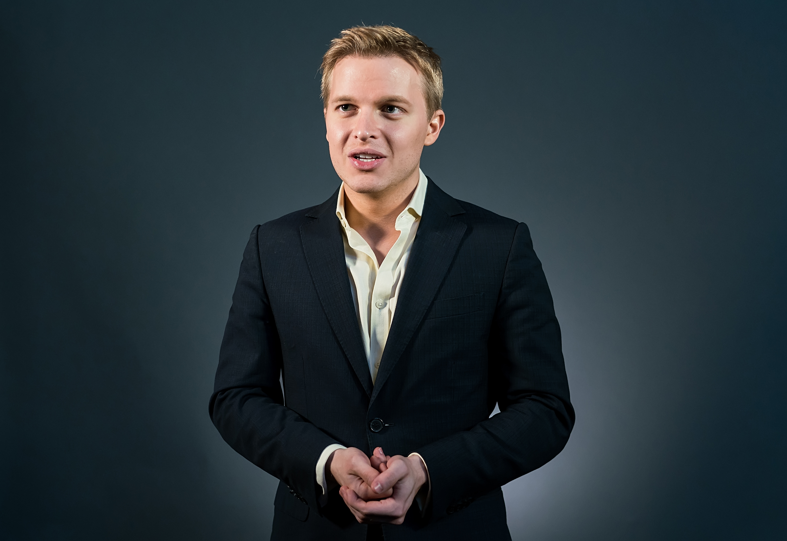 Activist, journalist, lawyer, Ronan Farrow attends the Forbes Under 30 Summit at Pennsylvania Convention Center in Philadelphia on Oct. 6, 2015.