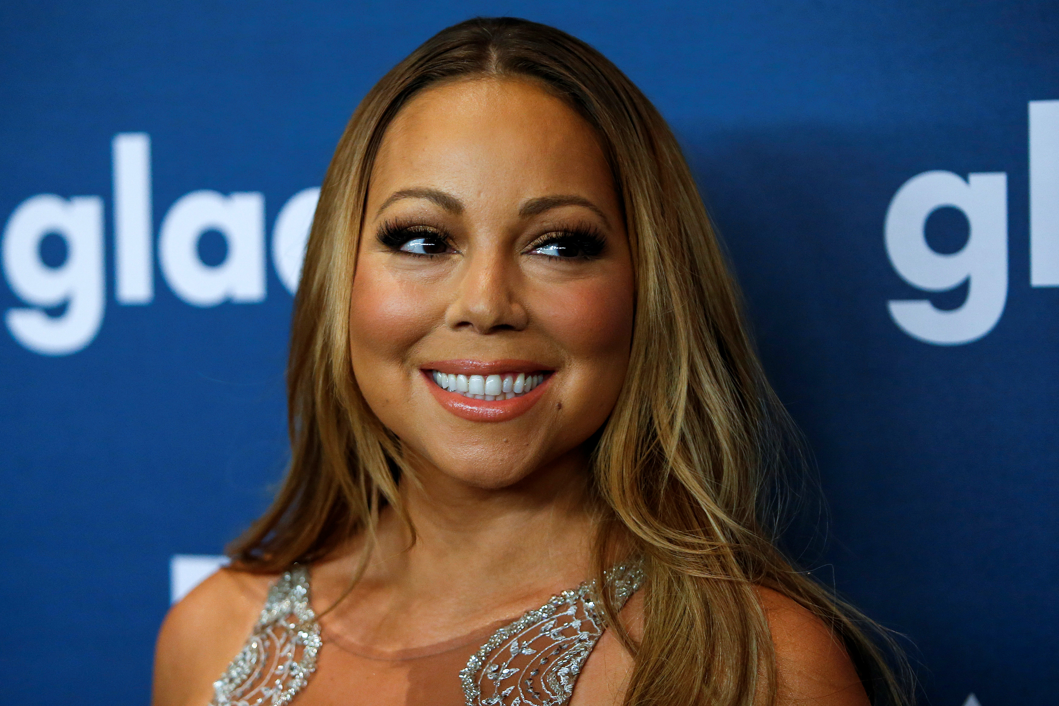 Singer Mariah Carey attends the 27th Annual GLAAD Media Awards in New York May 14, 2016.