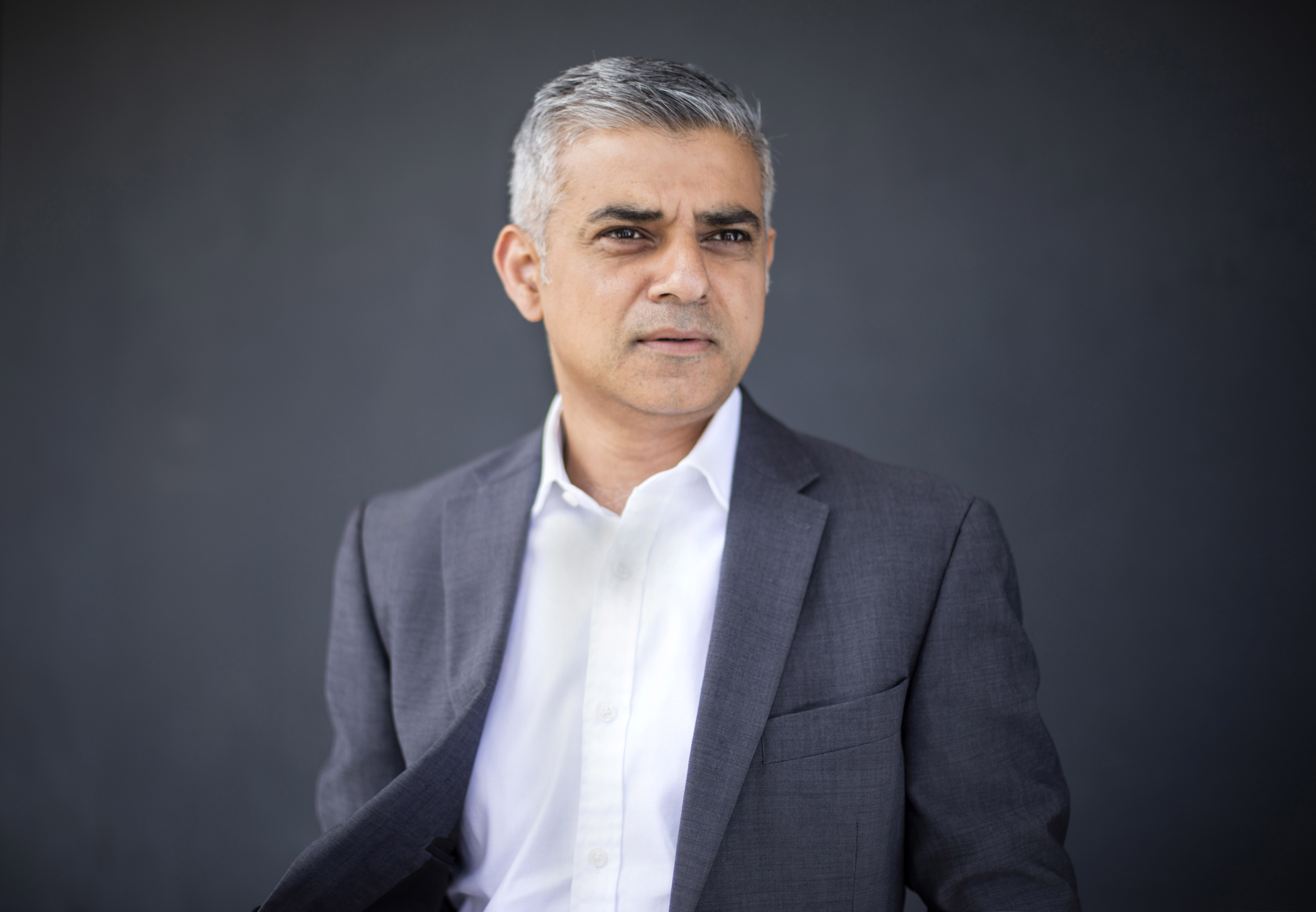 Sadiq Khan, London's newly elected mayor, poses for a portrait in London on May 8, 2016