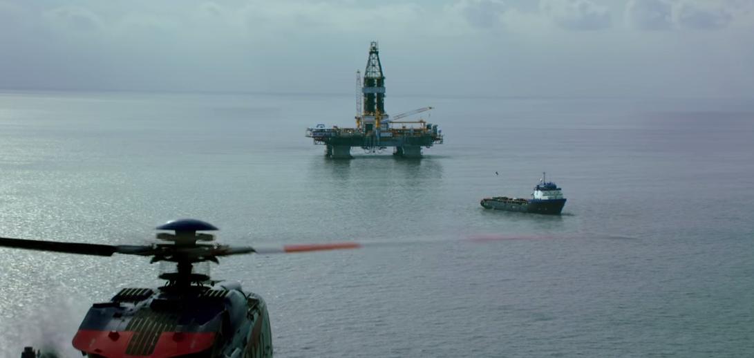 Screenshot from Deepwater Horizon trailer