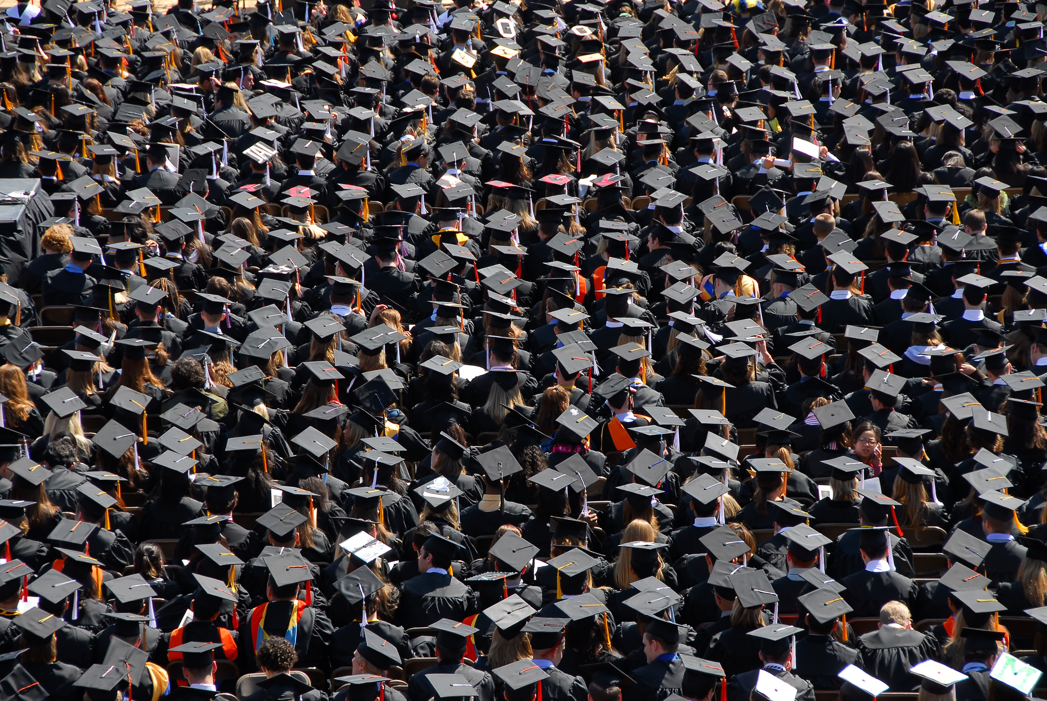 At the 2007 Spring Commencement, Ann Arbor, University of Michigan, USA.