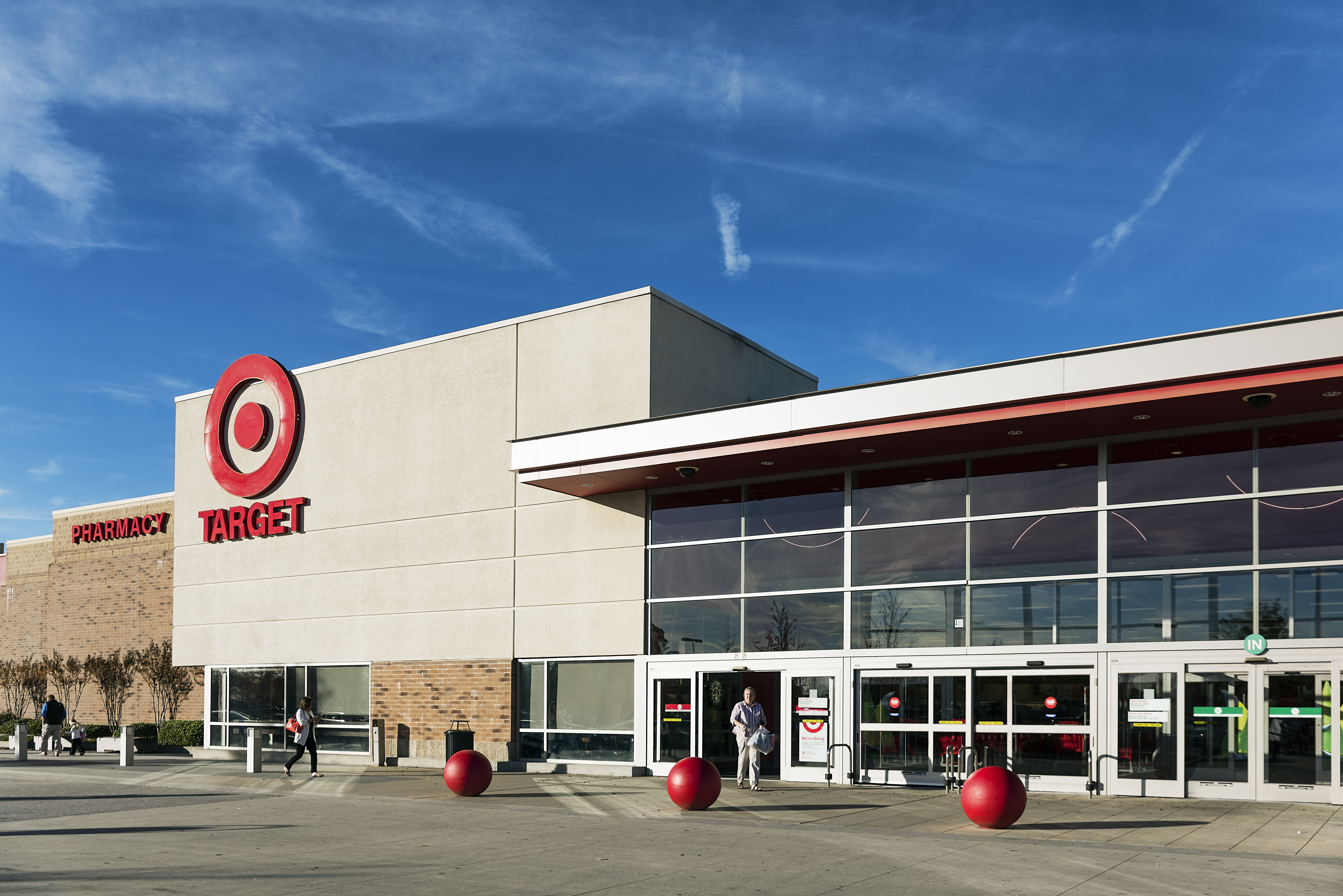 Target Store exterior.