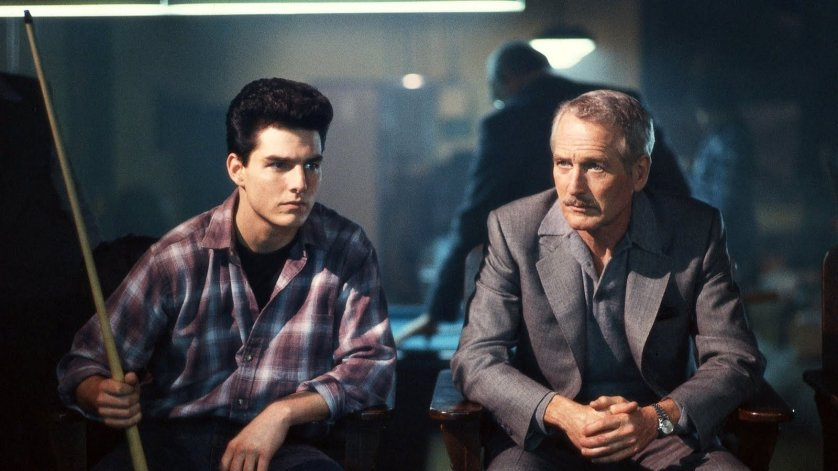 Tom Cruise as Vincent Lauria in The Color of Money, 1986.