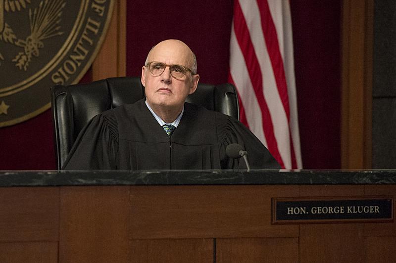 Jeffrey Tambor as Judge Kluger.