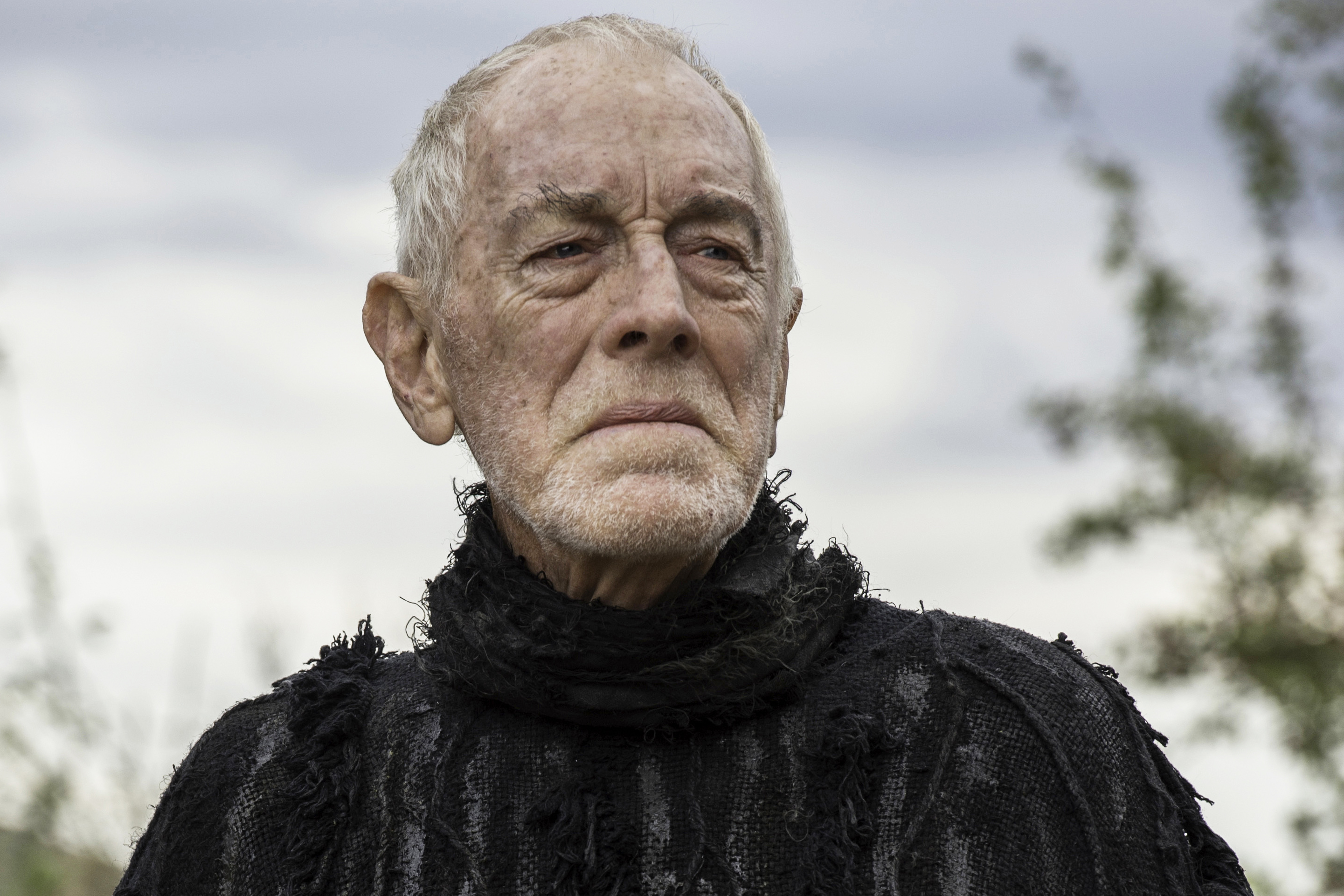 Max von Sydow in Game of Thrones season 6, episode 3.