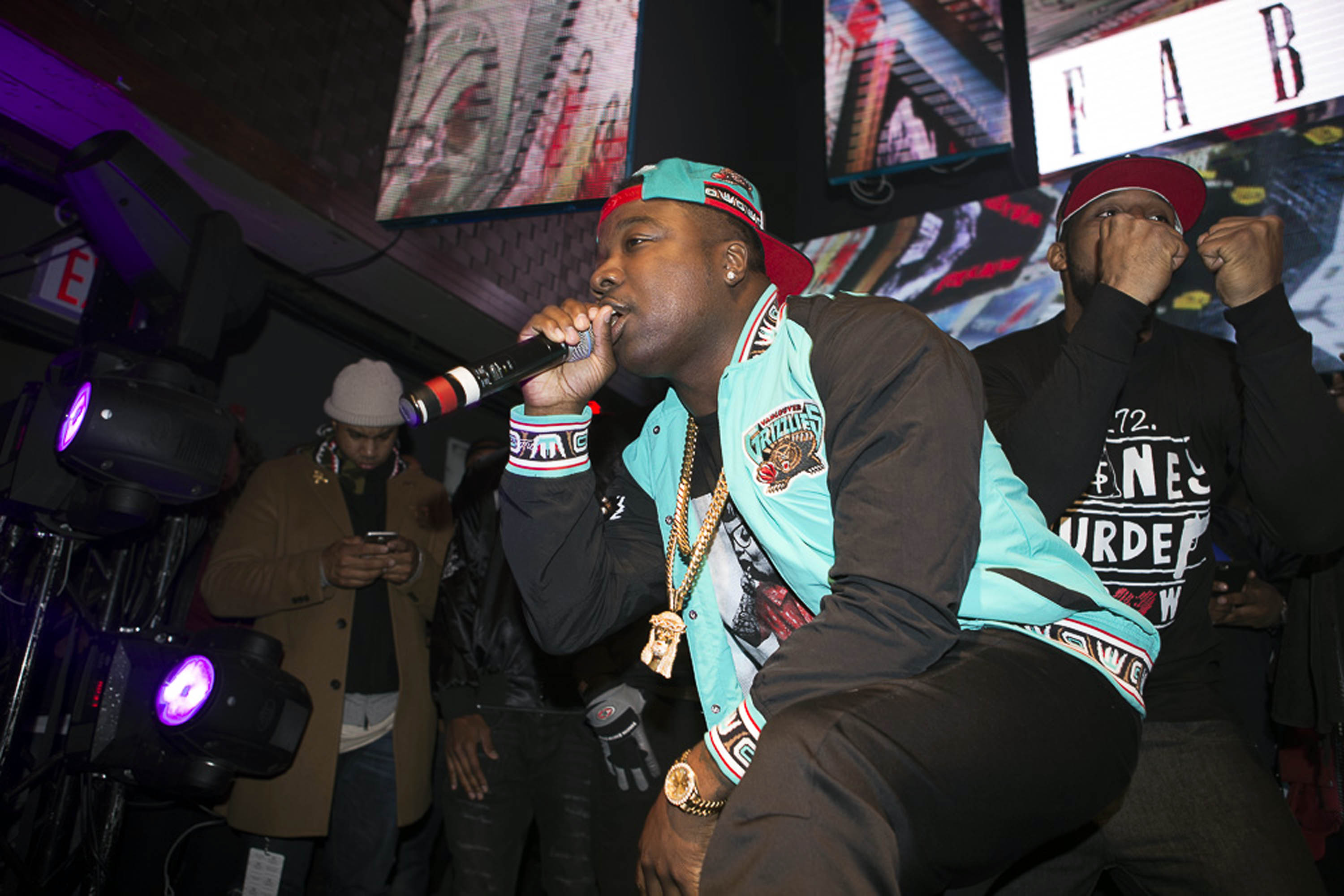 Troy Ave performs at Stage 48 on Nov. 17, 2015, in New York City.