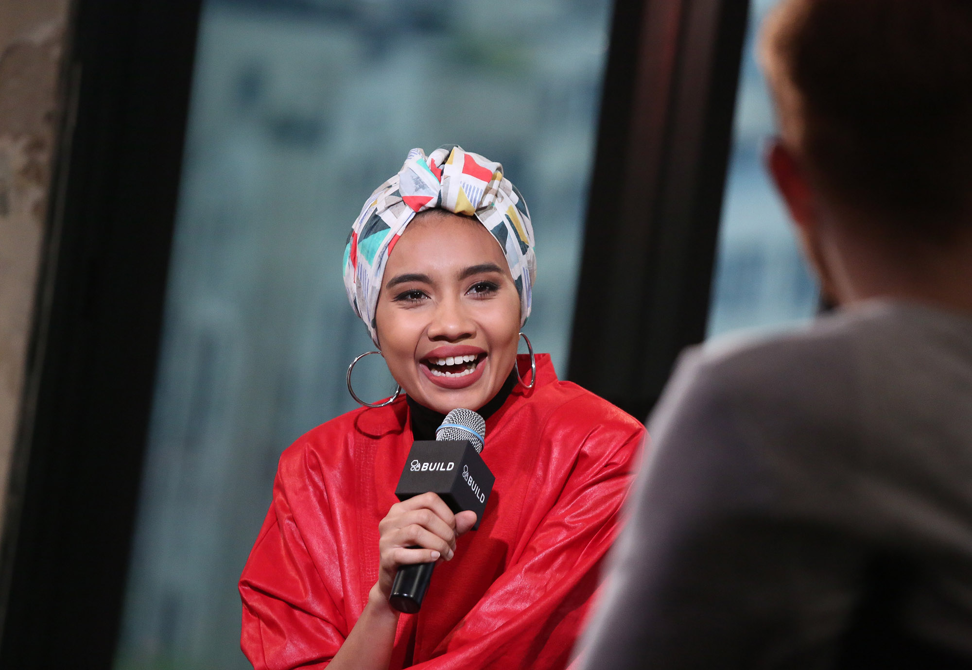 NEW YORK, NY - APRIL 27:  Singer Yuna attends the AOL Build Series to discuss her new album  Chapters   (Photo by Rob Kim/Getty Images)