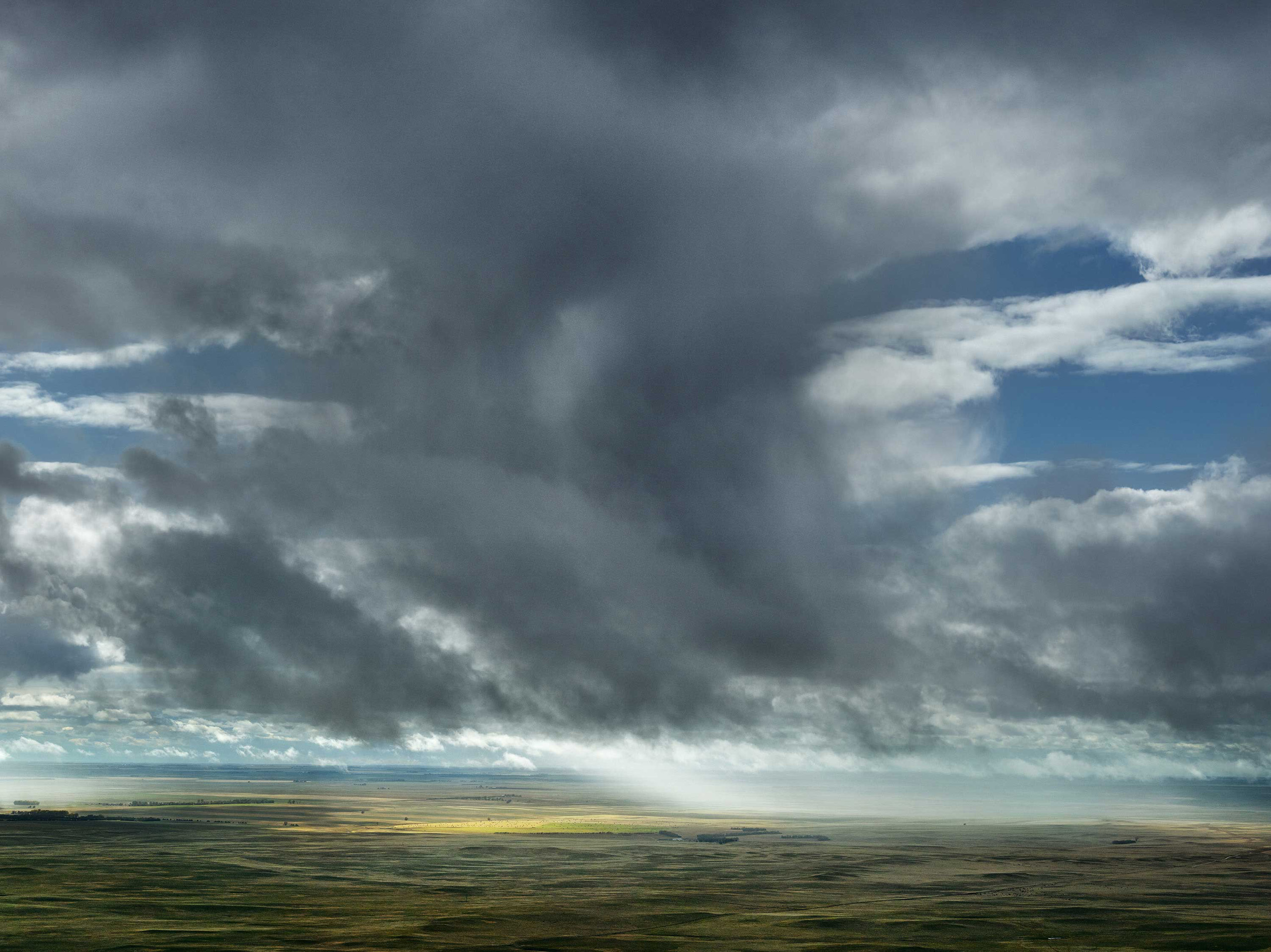 Sun Through Rain. Dawes County, Nebraska, 2013.