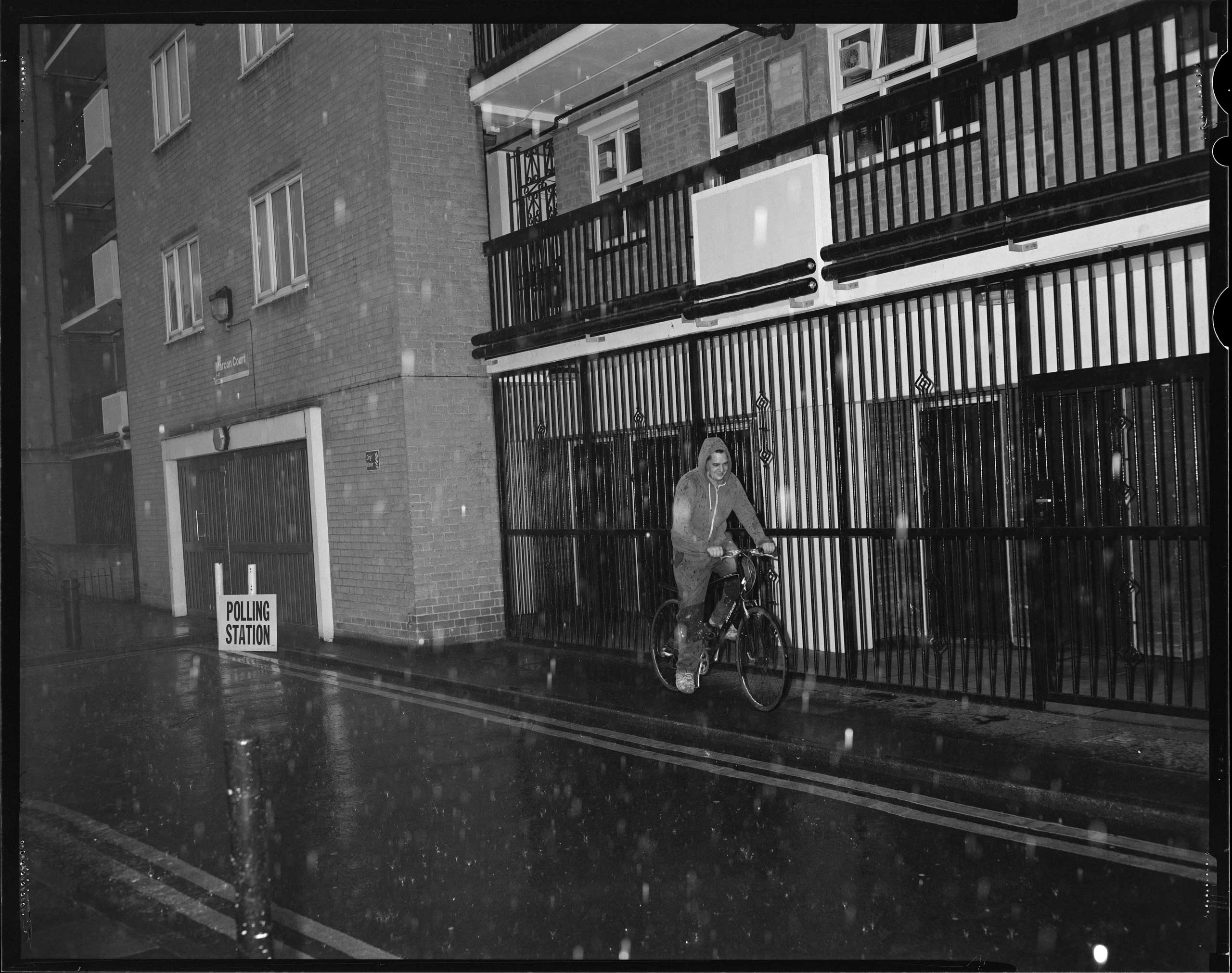 "<b>Olivia Arthur:</b> ""There was nobody in the polling station when I went to vote, probably (hopefully I thought) because of the torrential rain coming down outside. 'Are you documenting the determination to vote?!' shouted a passer-by. The moment seemed friendly, light and very British. I went off feeling ultimately positive and so I was devastated this morning to wake up to the news that we had collectively made this huge, stupid, irreversible decision.""                                                                                                         London, UK, June 23, 2016."