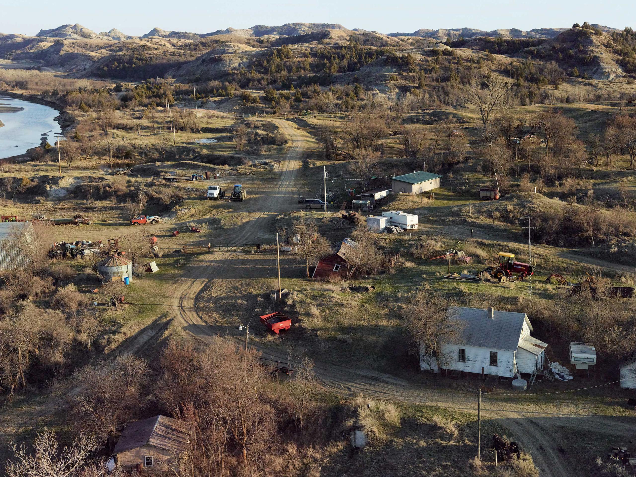 Along The Little Missouri. McKenzie County, North Dakota, 2013.