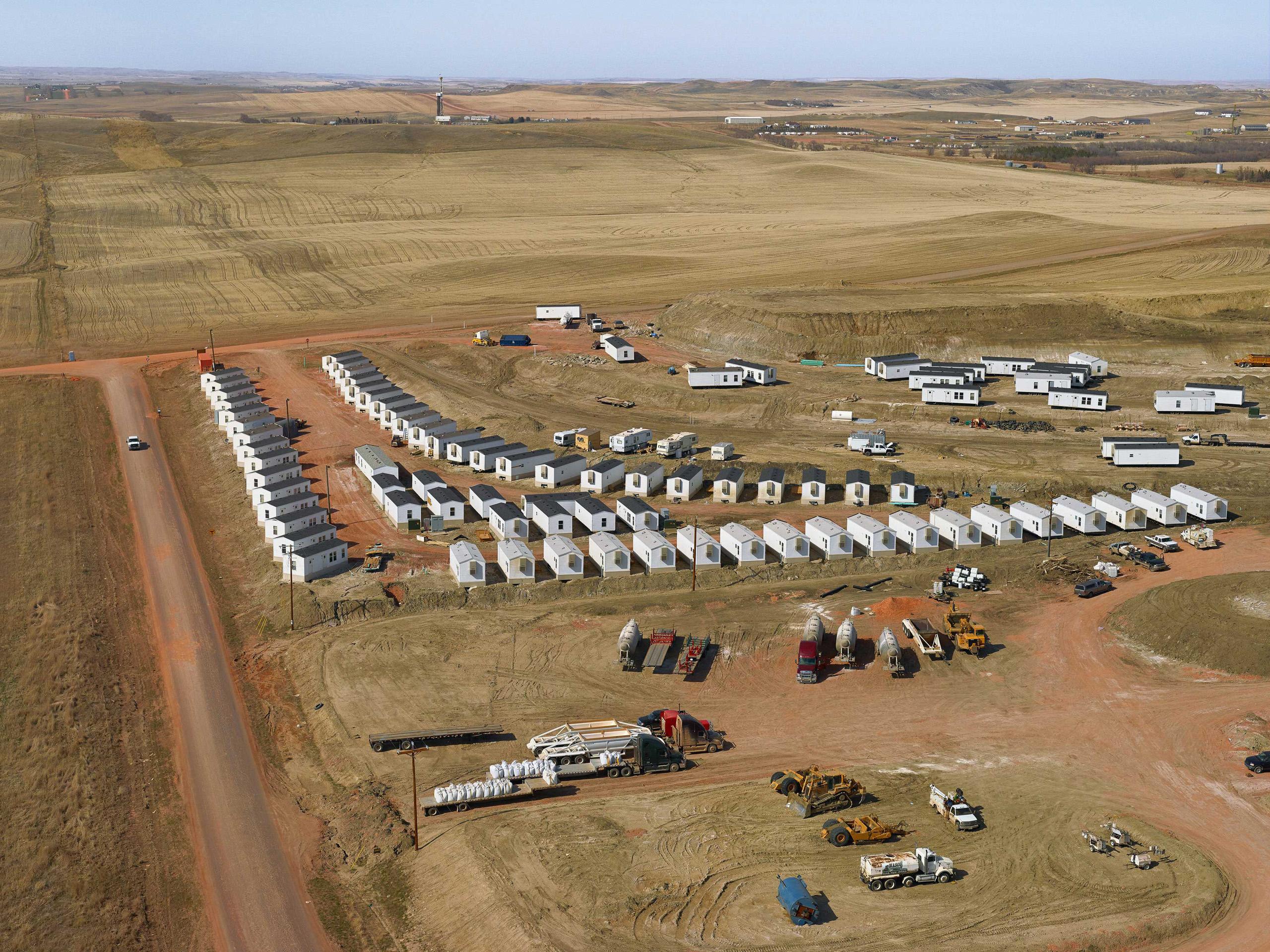 Roughneck Housing. McKenzie County, North Dakota, 2013.