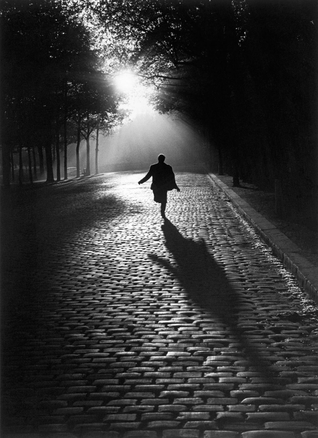 Running man, Paris, 1953.