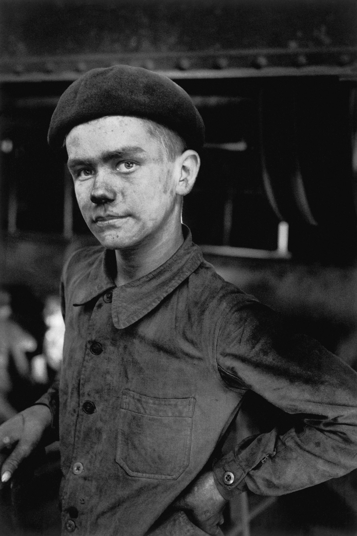 Young Miner, Lens, 1955.