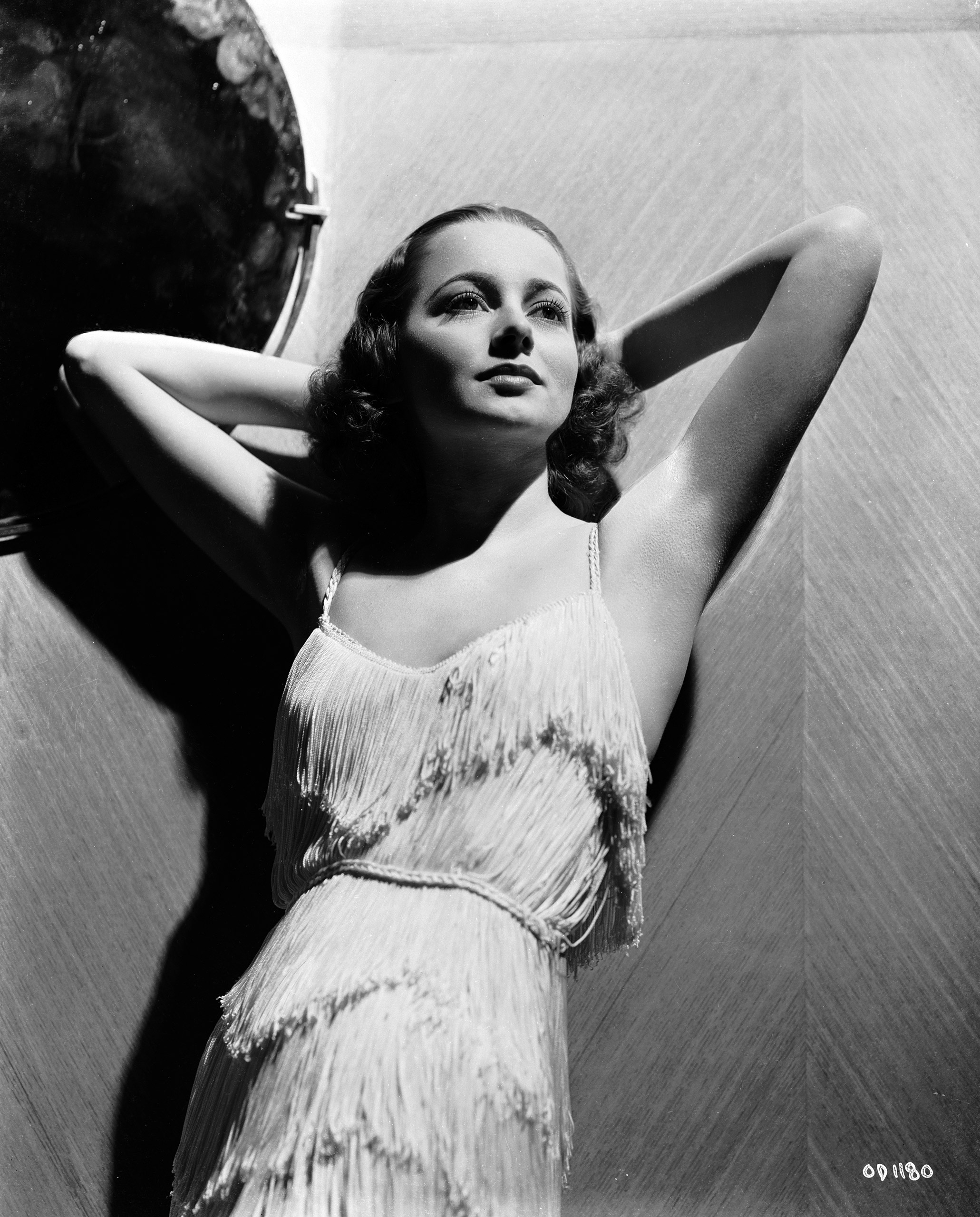Portrait of Olivia de Havilland, circa 1938.
