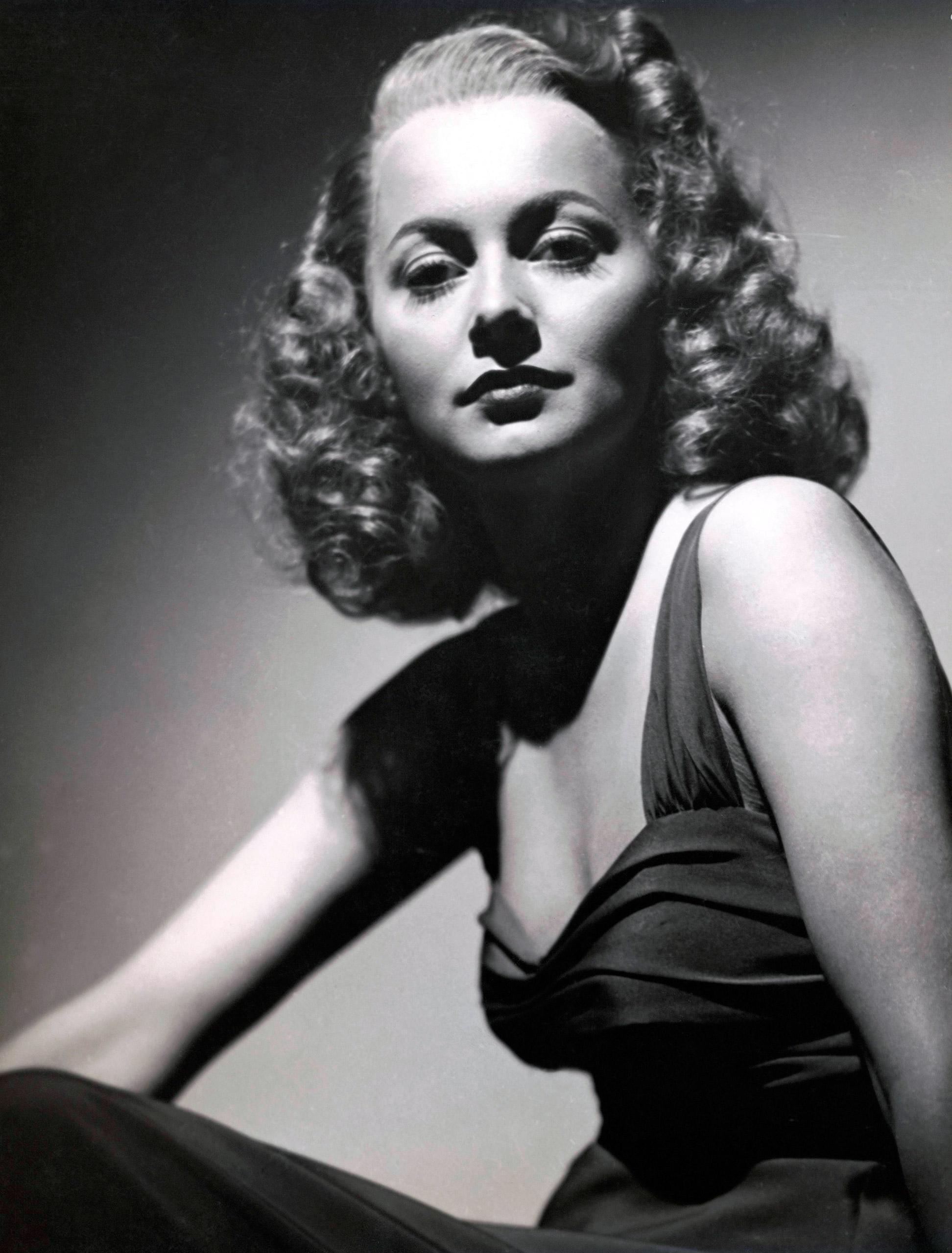 Portrait of Olivia de Havillland, circa 1939.